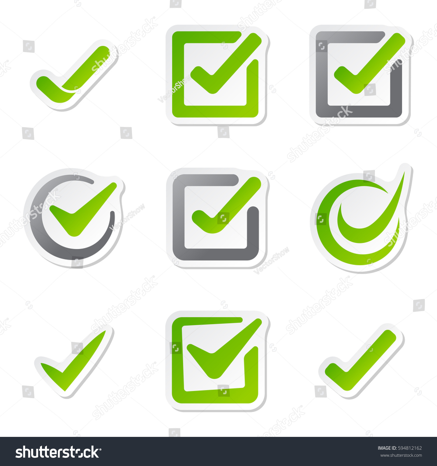 Check box icons vote mark sign stock vector 594812162 shutterstock check box icons of vote mark sign choice yes symbol and correct design right agreement voting biocorpaavc Gallery