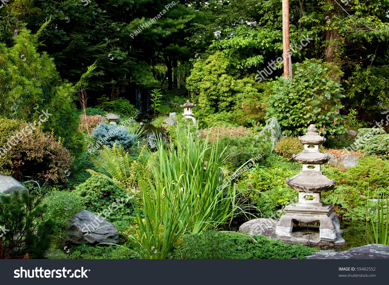 interesting beautiful zen garden | Beautiful Peaceful Japanese Zen Garden Used Stock Photo ...
