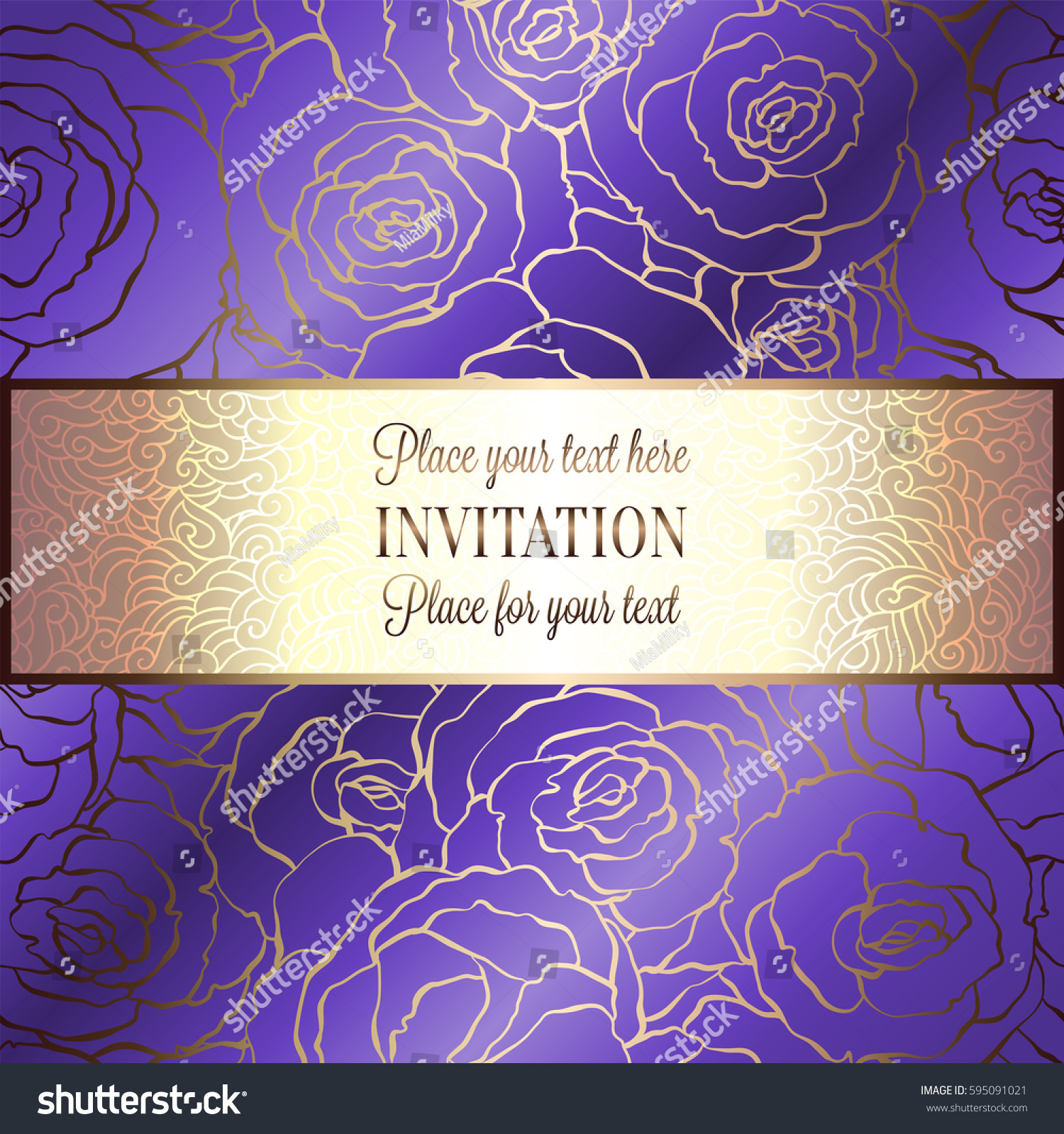 Purple and gold background free vector download 46900