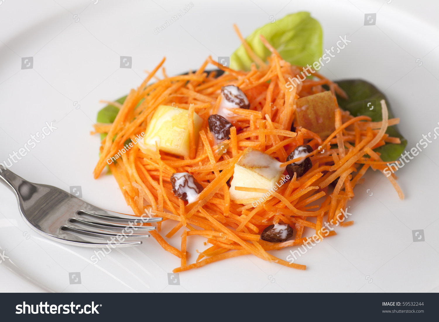 Spaghetti salad with curry