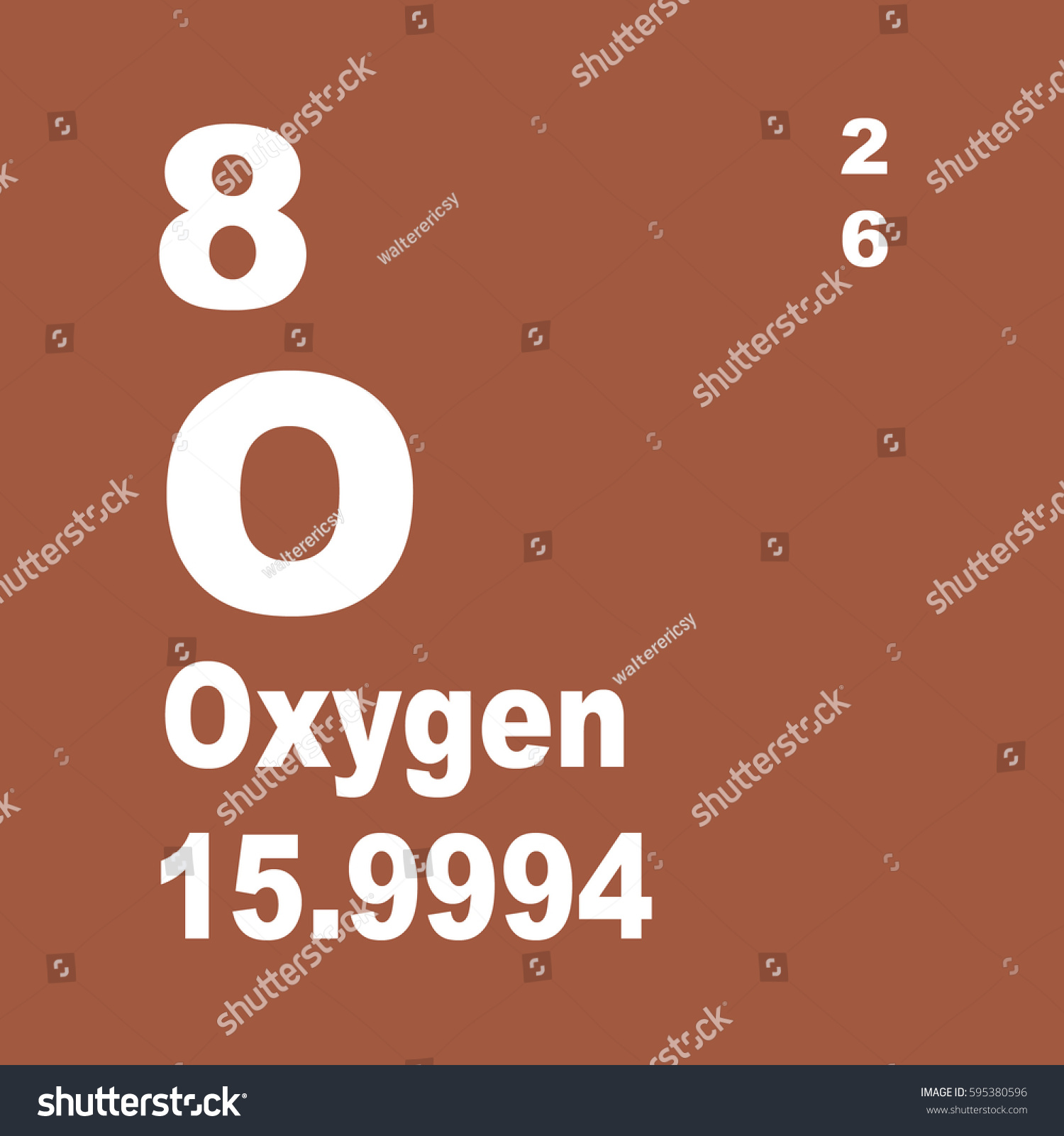 Oxygen periodic table elements stock illustration 595380596 oxygen periodic table of elements gamestrikefo Images