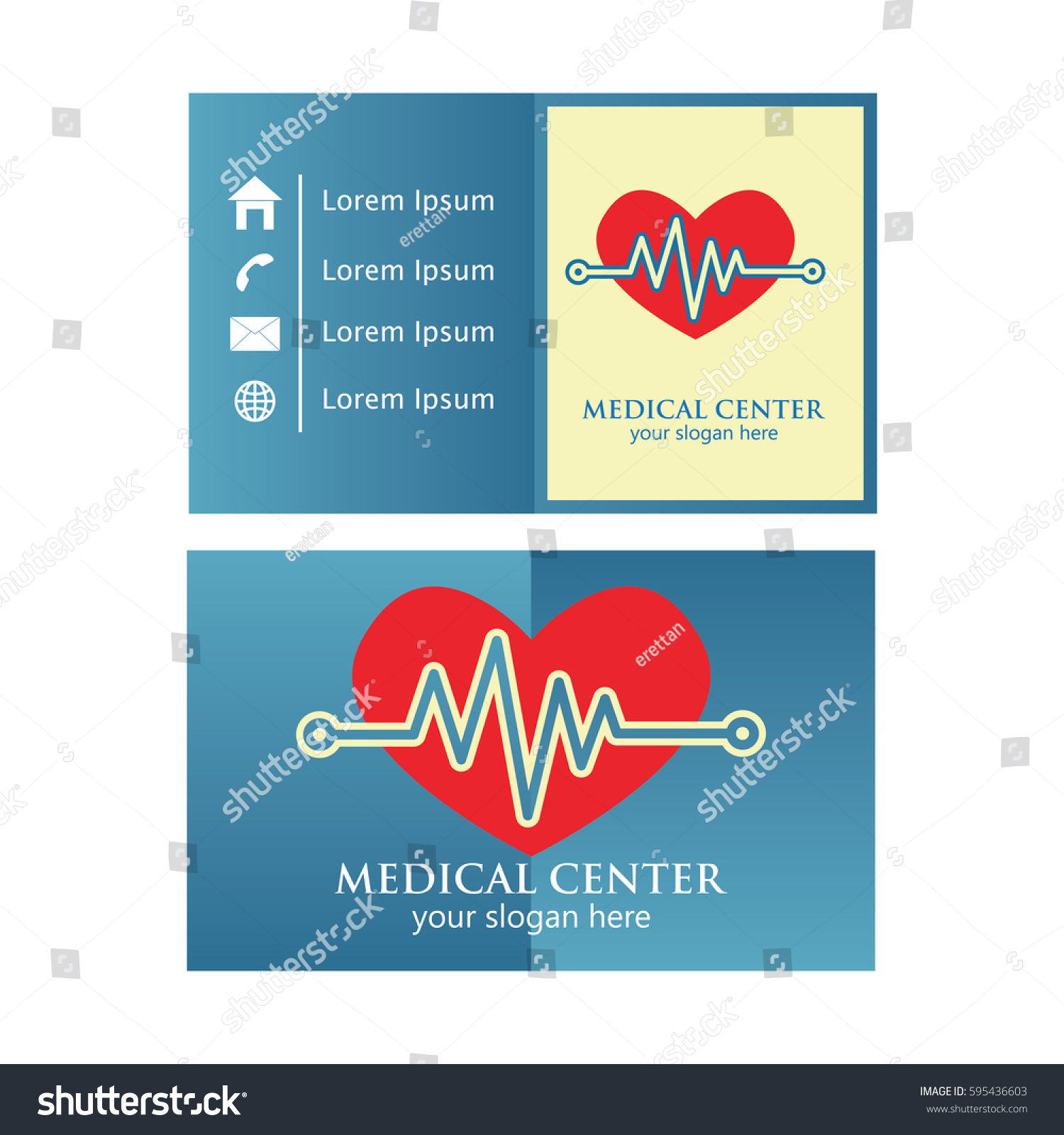 Medical Business Card Design Stock Photo (Photo, Vector ...