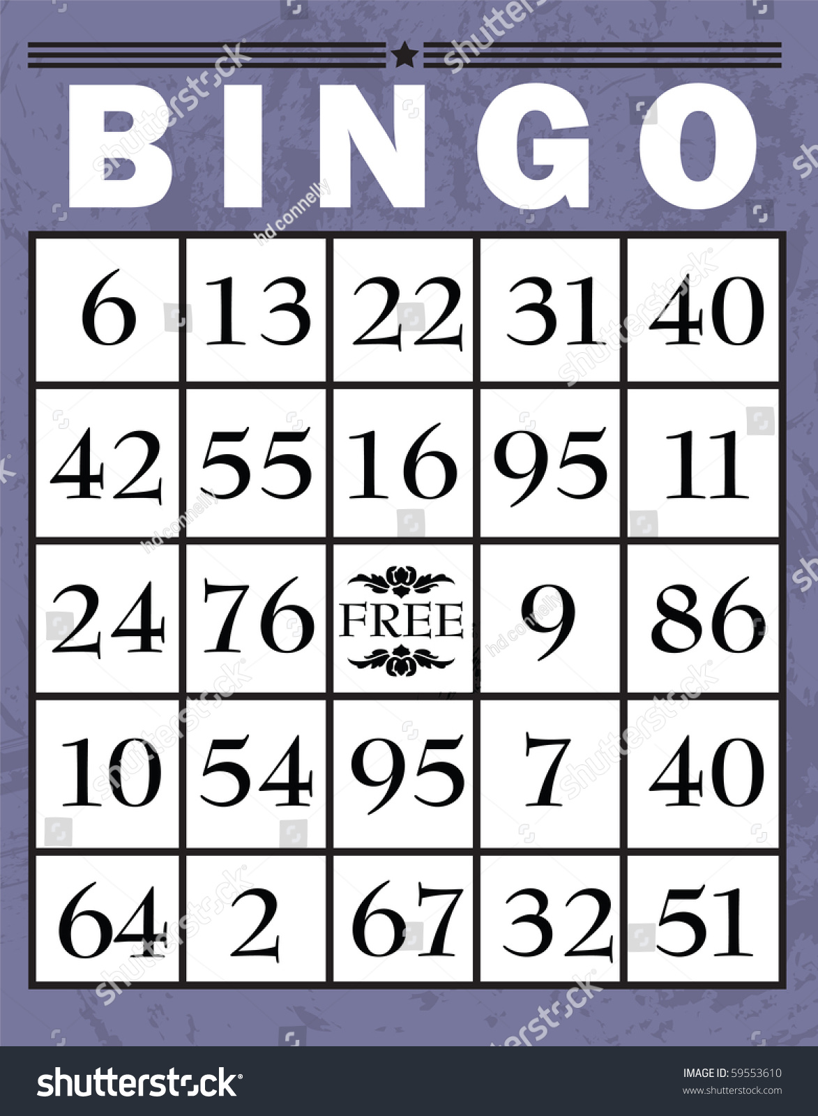 free bingo clipart downloads - photo #39