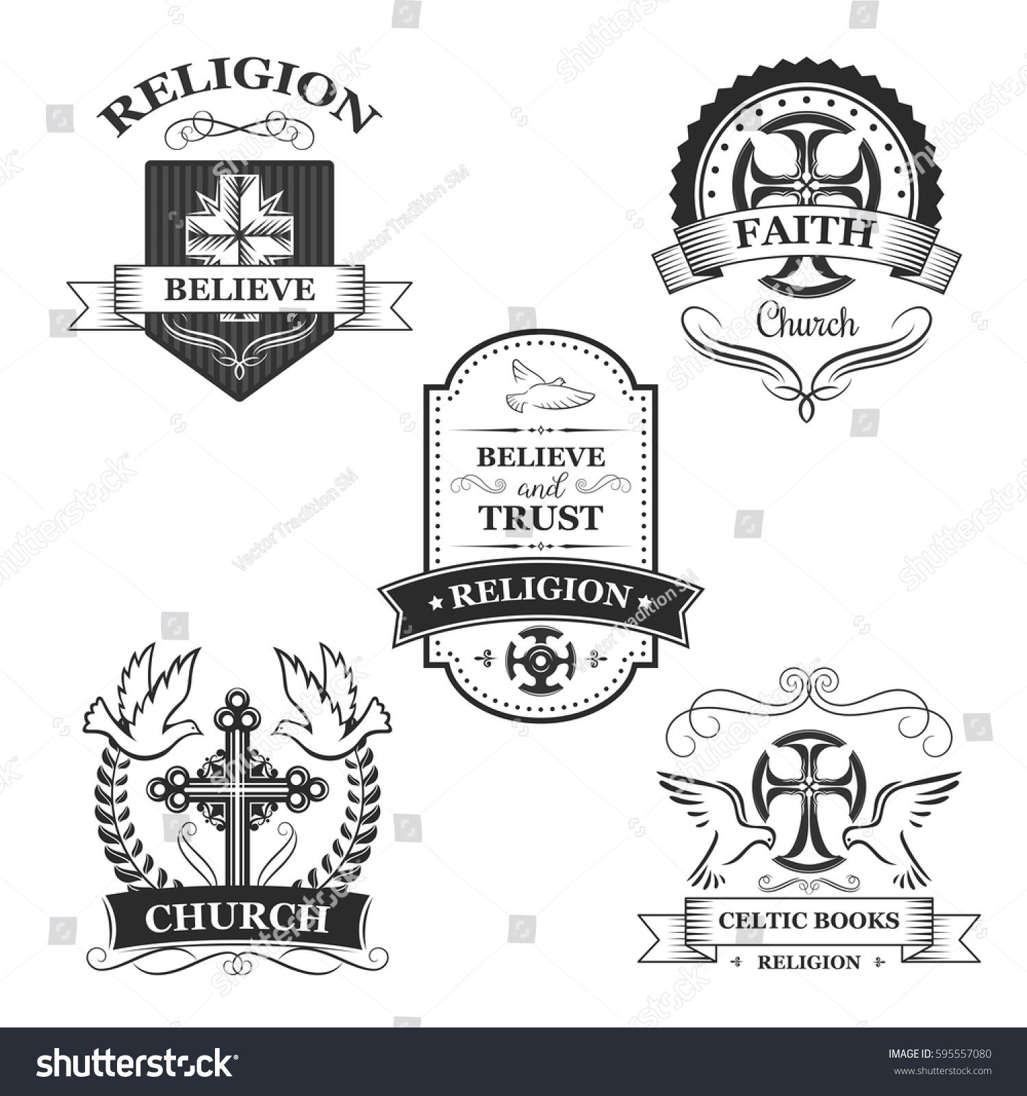 Symbol of believe choice image symbol and sign ideas church sign set christian religion symbol stock vector 595557080 christian religion symbol of cross on heraldic buycottarizona