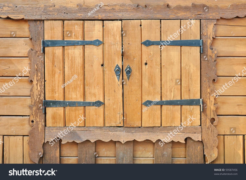 Деревянные ставни на окна своими руками фото