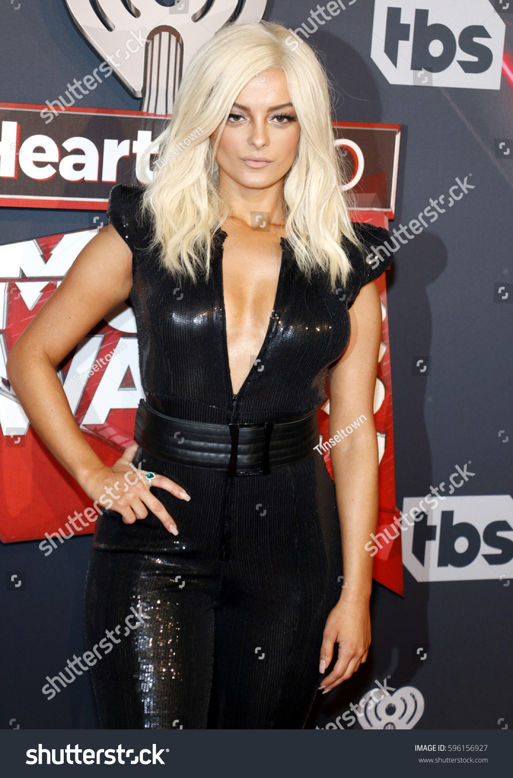Bebe Rexha 2017 Iheartradio Music Awards Stock Photo (Edit Now