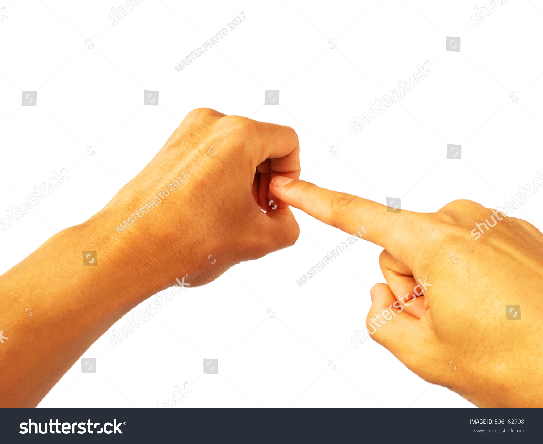 Good, vagina hand gesture apologise