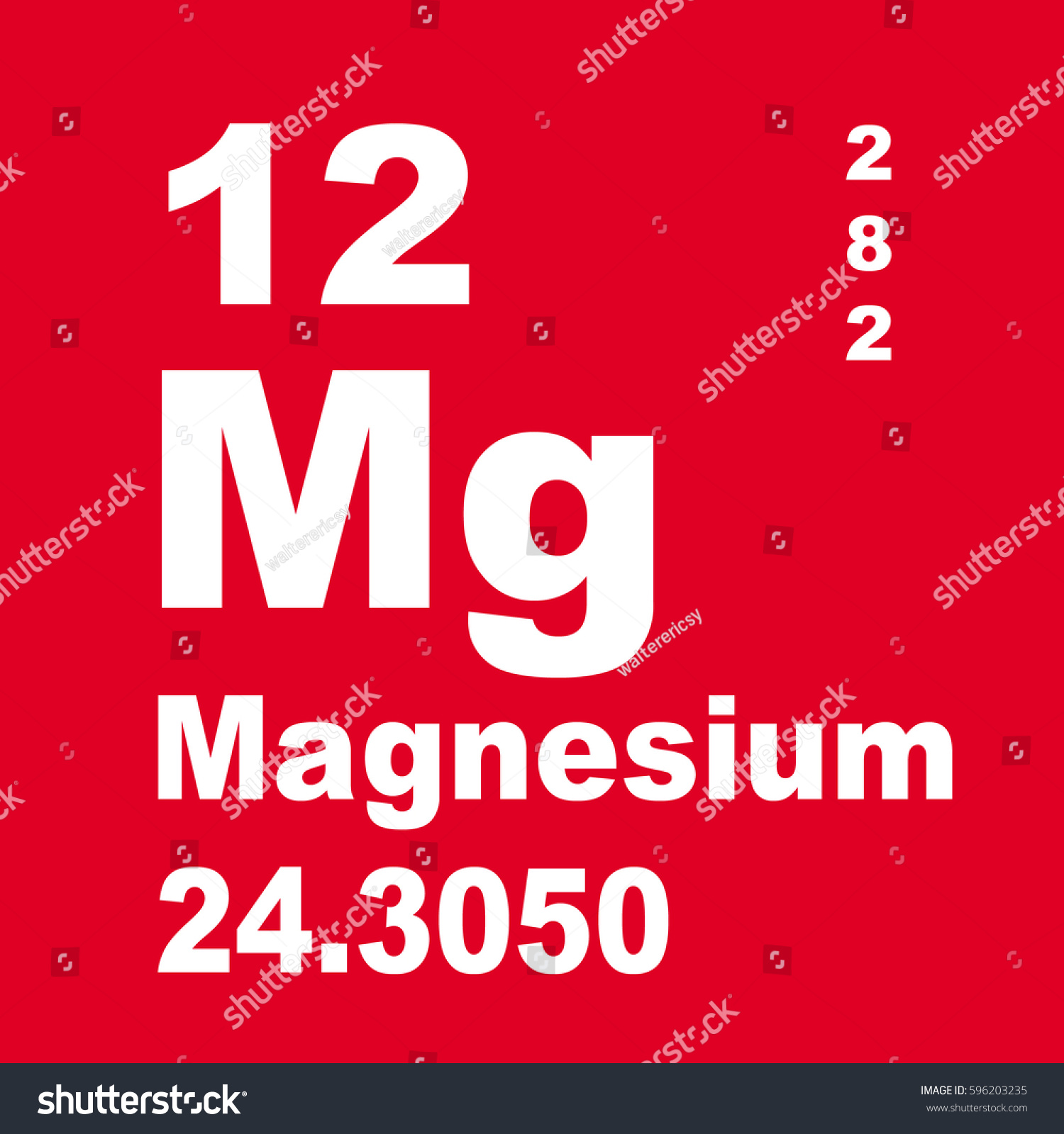 Magnesium periodic table elements stock illustration 596203235 magnesium periodic table of elements gamestrikefo Gallery