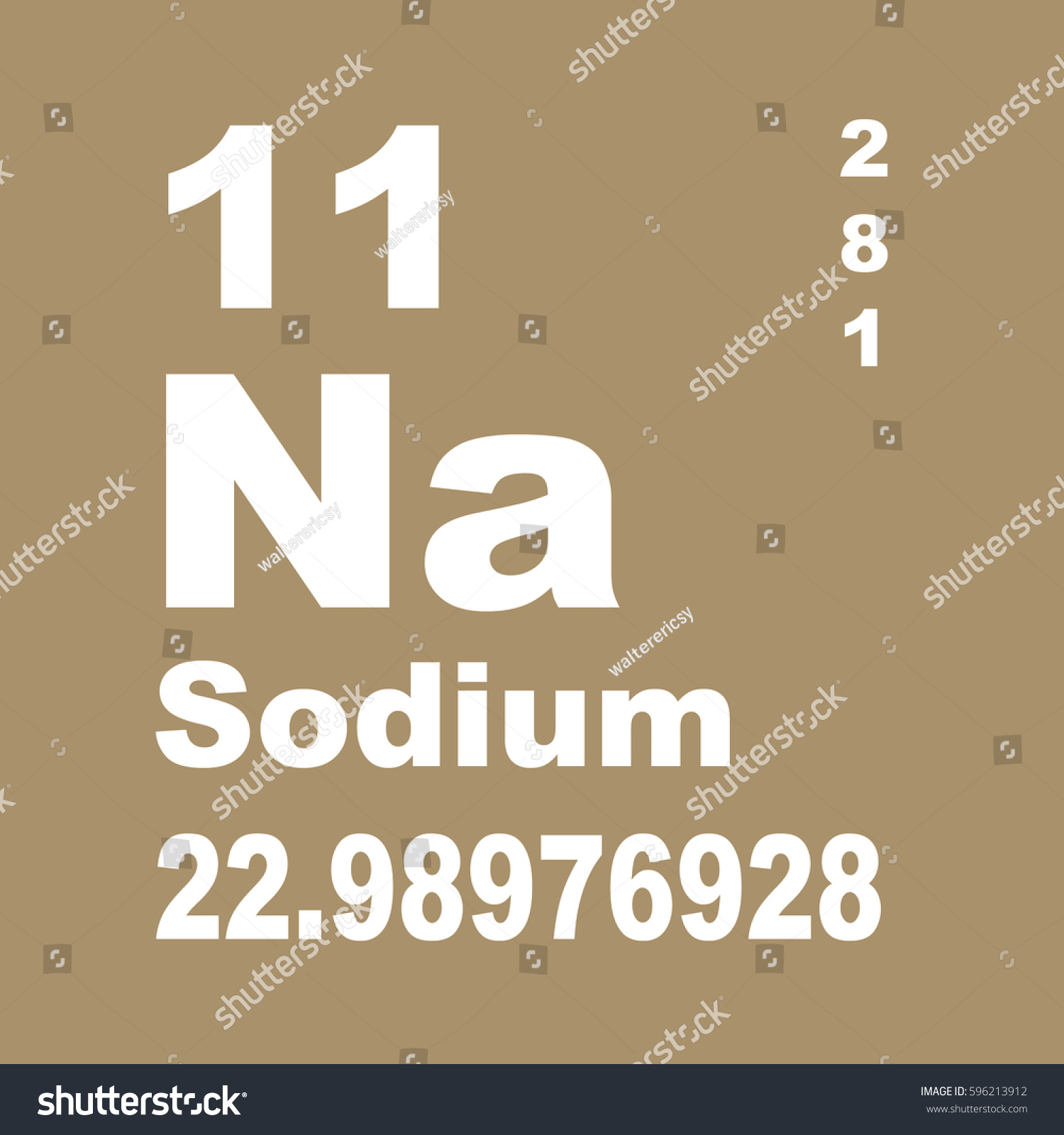 Sodium periodic table elements stock illustration 596213912 sodium periodic table of elements gamestrikefo Images