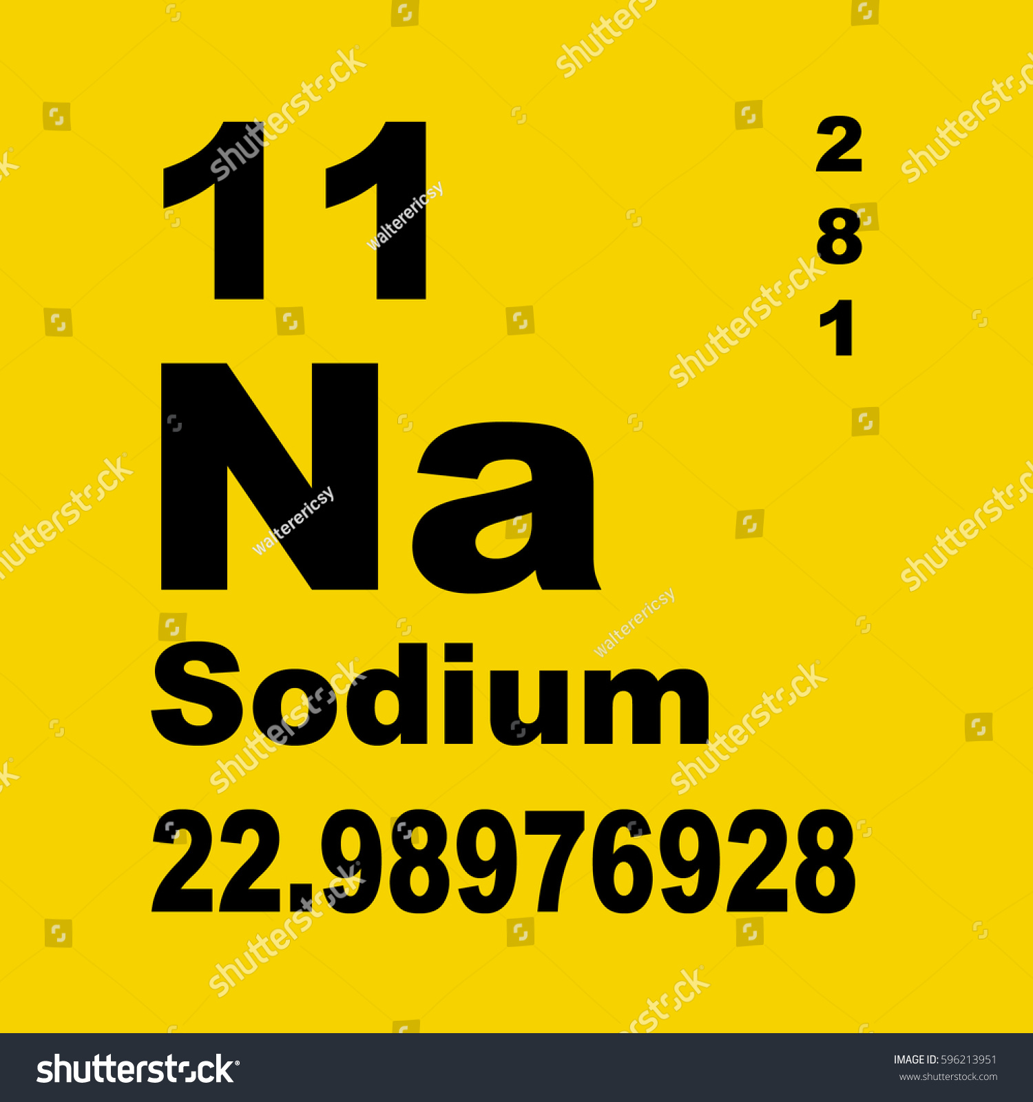 Sodium periodic table elements stock illustration 596213951 sodium periodic table of elements gamestrikefo Images
