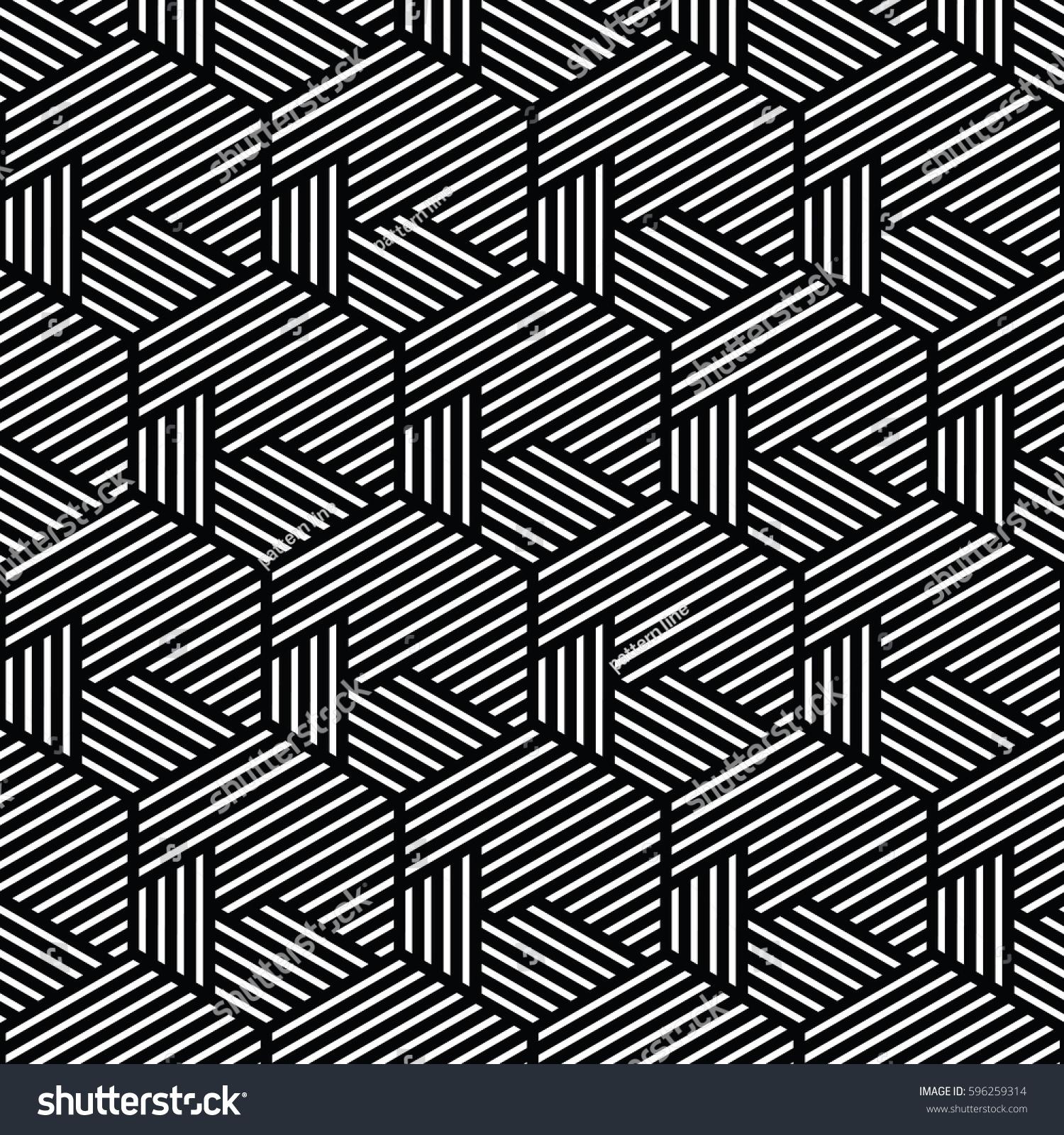 Line Texture Vector : Yellow white patternbackground line geometricmodern