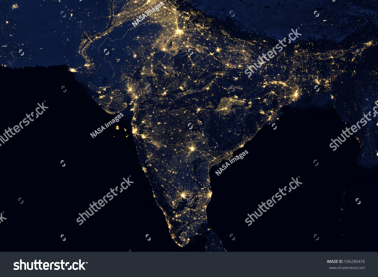 City lights on world map india elements of this image are id 596280476 gumiabroncs Image collections