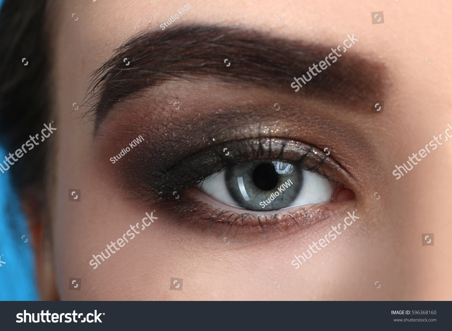 Eye Makeup Closeup Ez Canvas