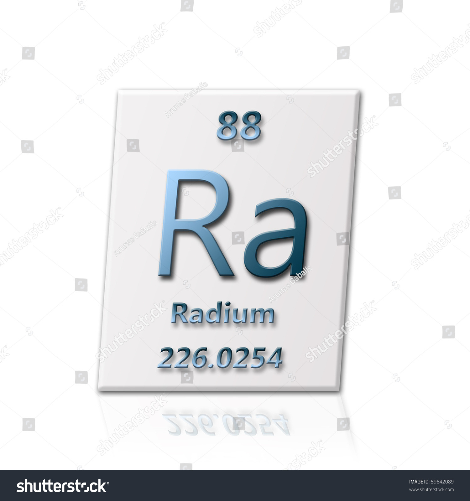 There chemical element radium all information stock illustration there is a chemical element radium with all information about it gamestrikefo Images