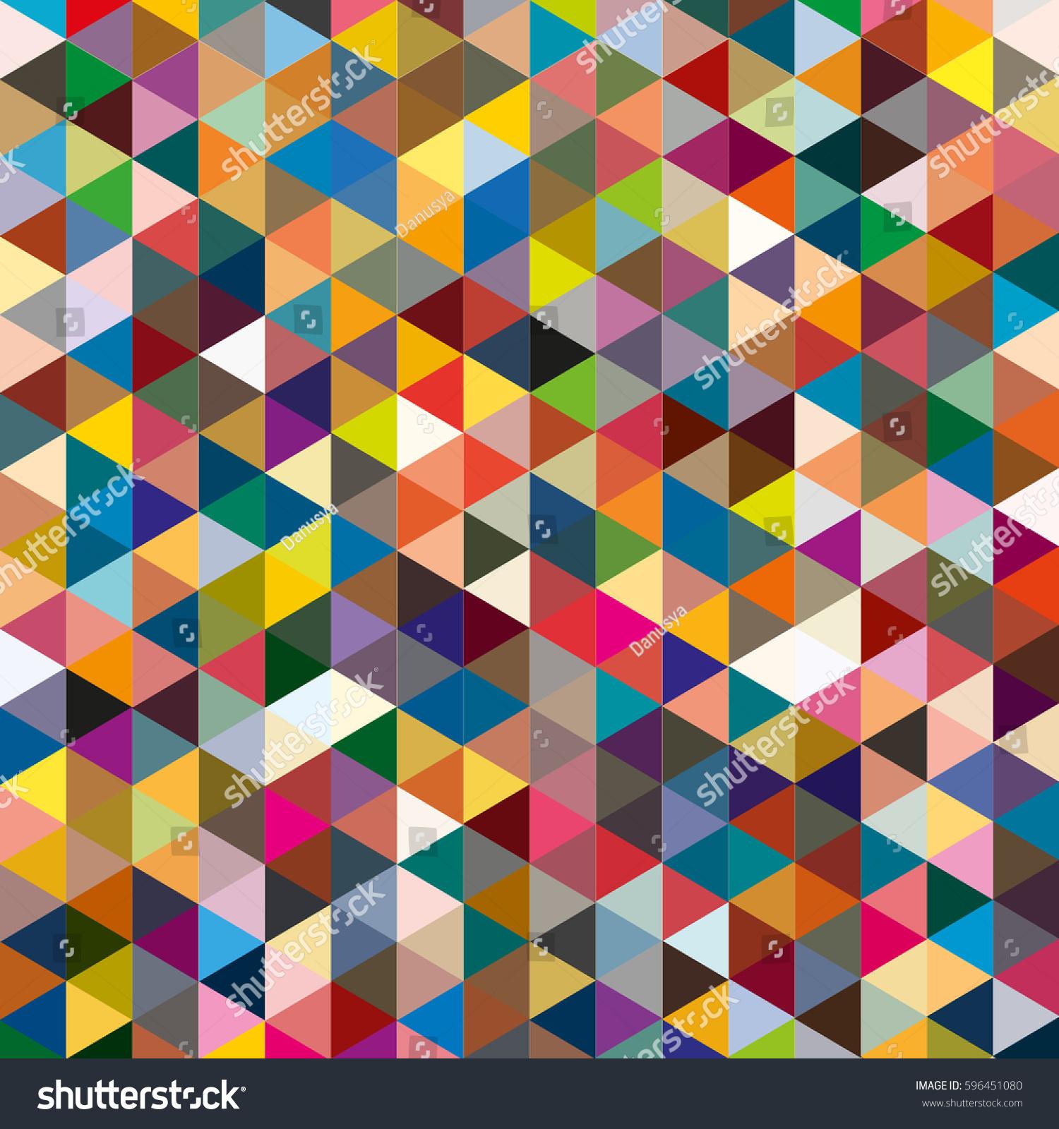 colorful geometric pattern wallpaper