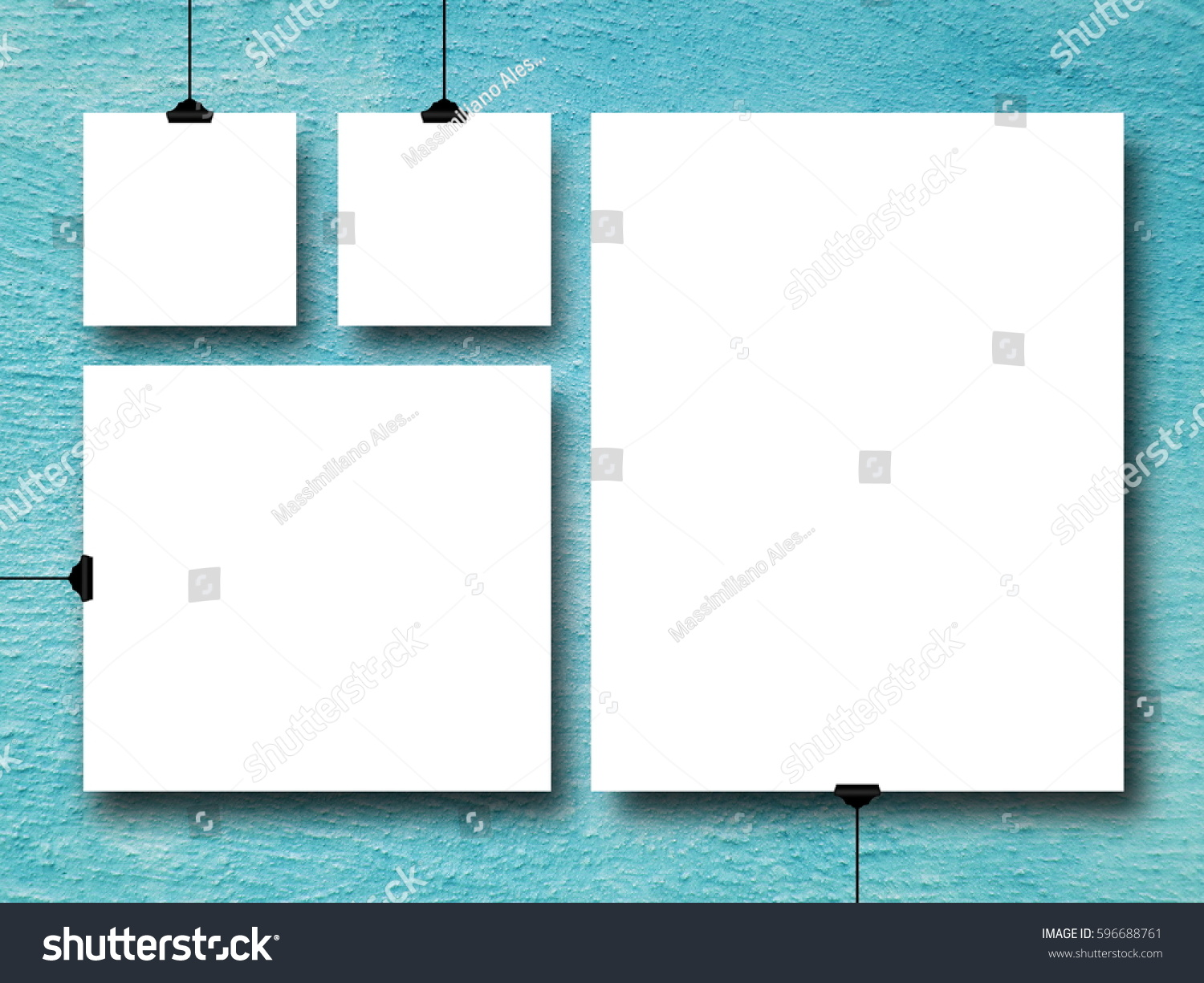 Royalty-free Multiple square and rectangular frames… #596688761 ...