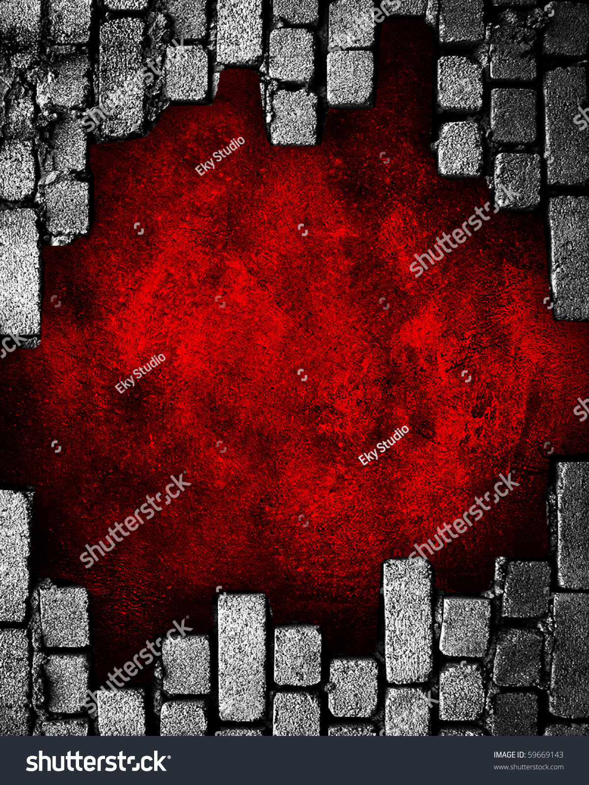 how to cut a hole in a brick wall