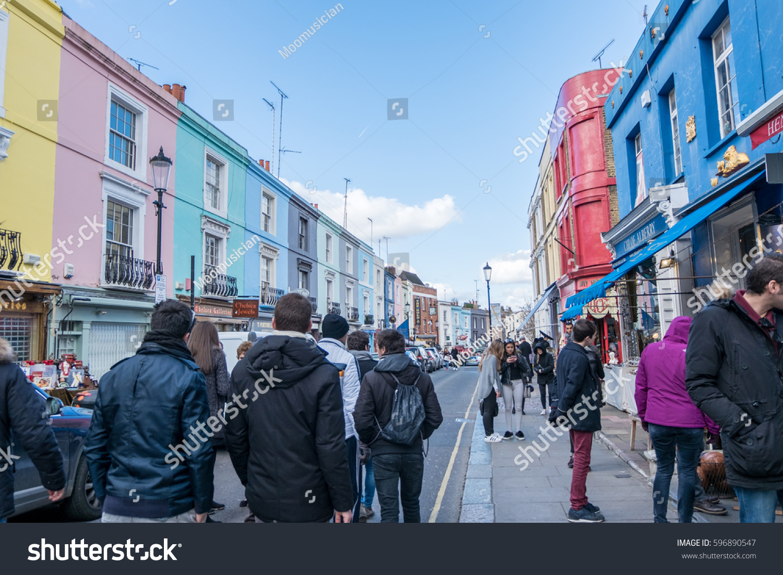 London England 24 February 2017 People Stock Photo 596890547 ...