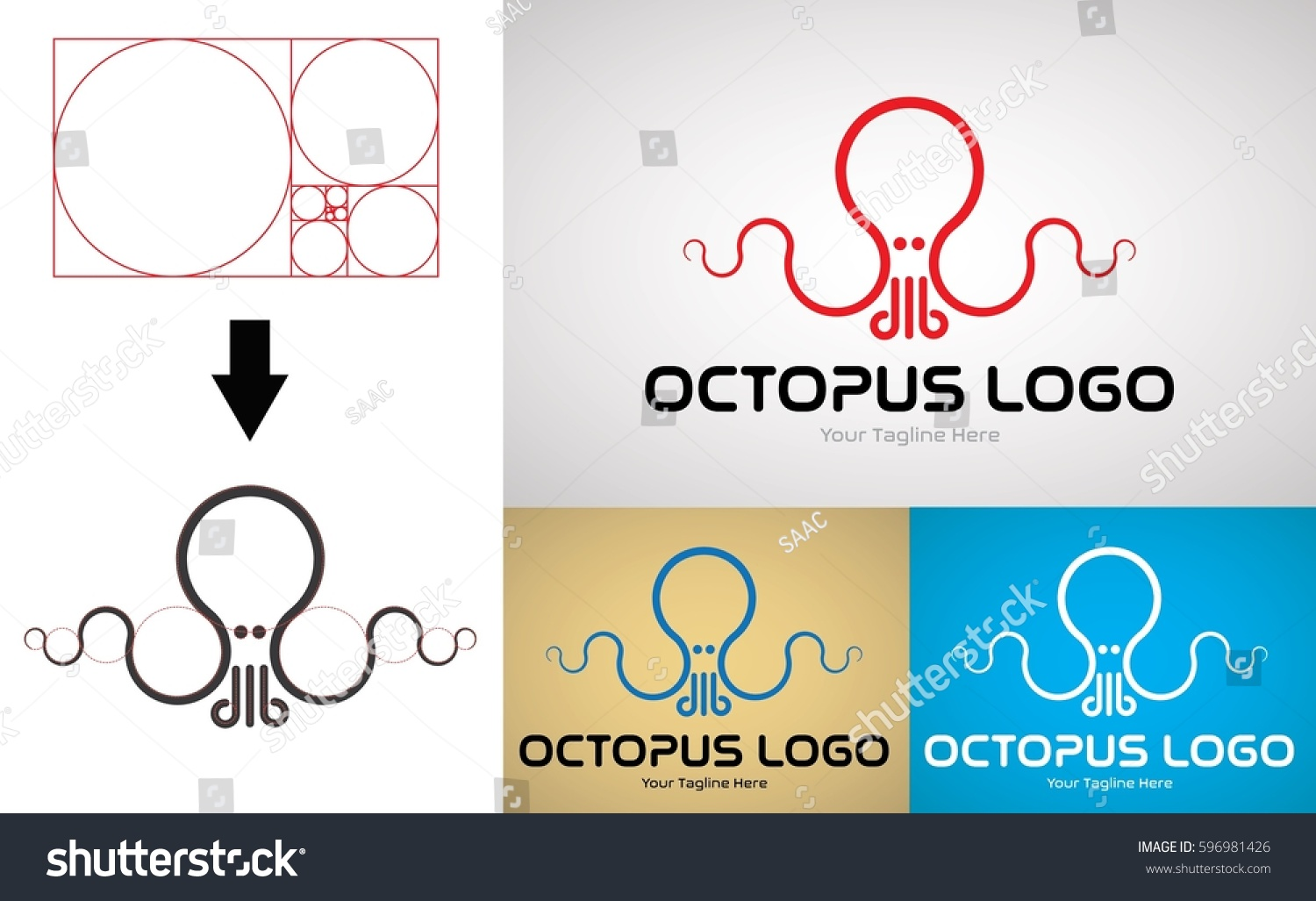 Octopus Logo  Pinterest