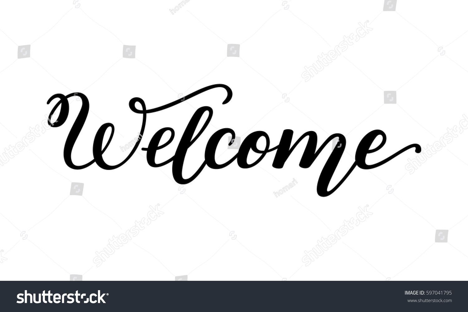 welcome template