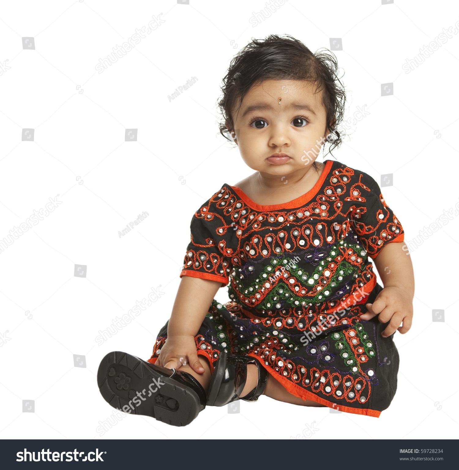 45eccbccb9 Portrait of an Asian Indian Baby Girl… Stock Photo 59728234 - Avopix.com