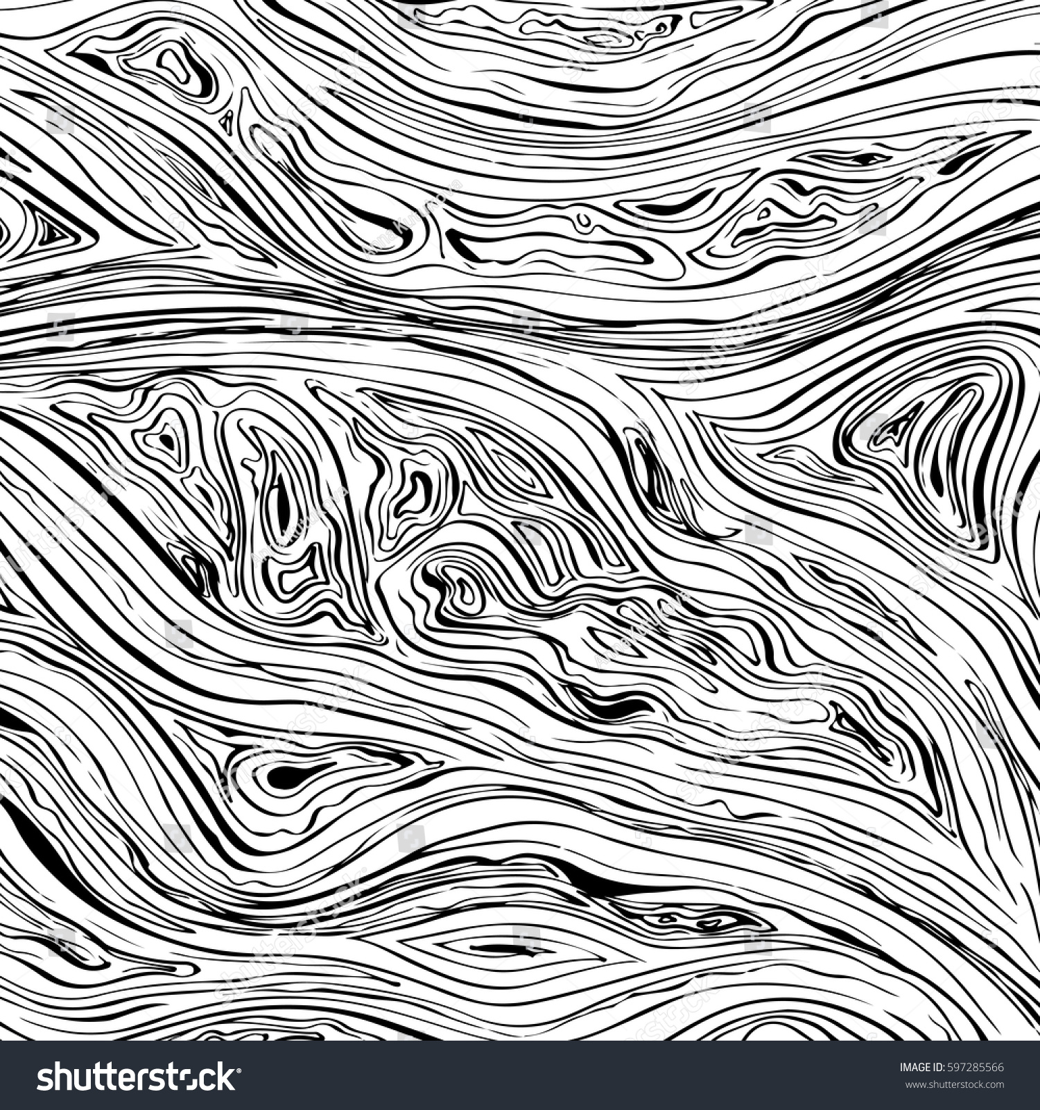 Line Art Texture : Abstract line background vector texture hand stock