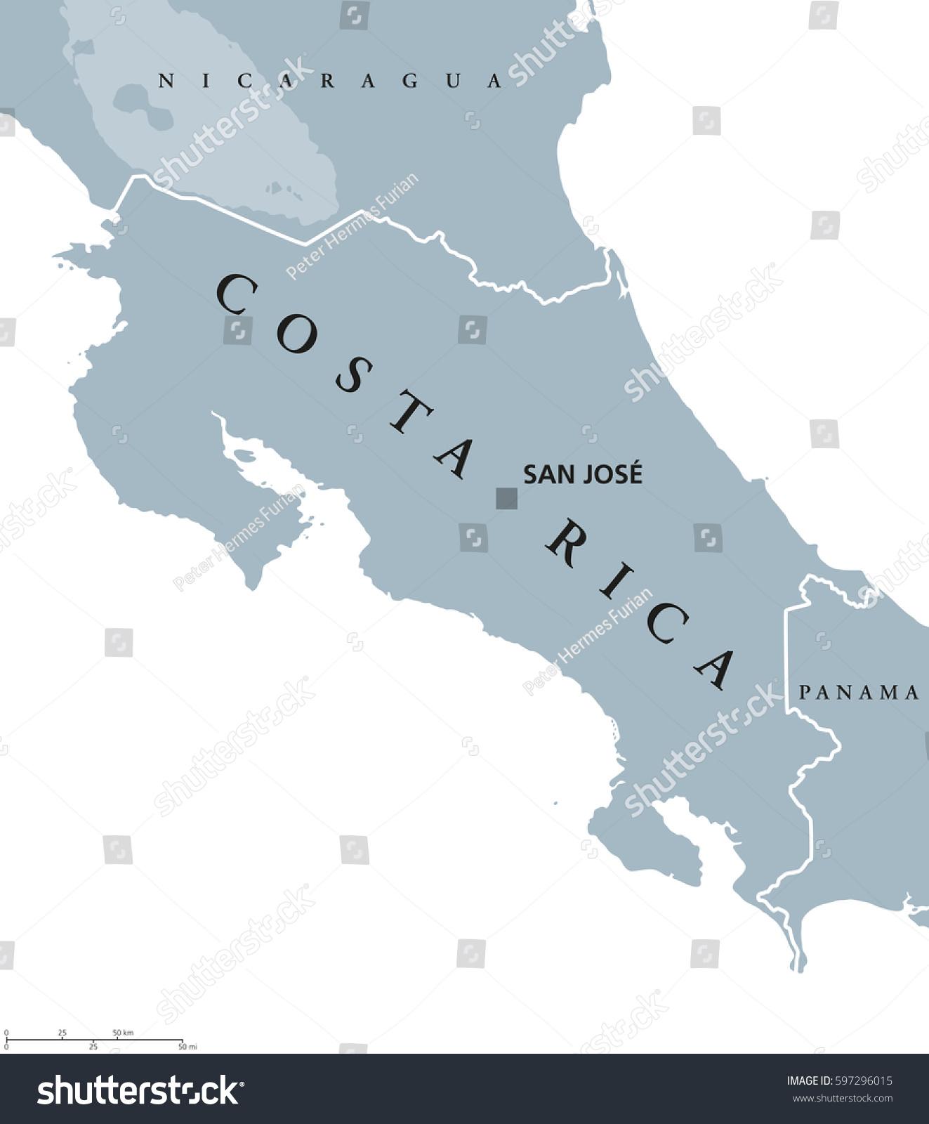 Costa rica political map capital san stock vector 597296015 costa rica political map capital san stock vector 597296015 shutterstock gumiabroncs Gallery