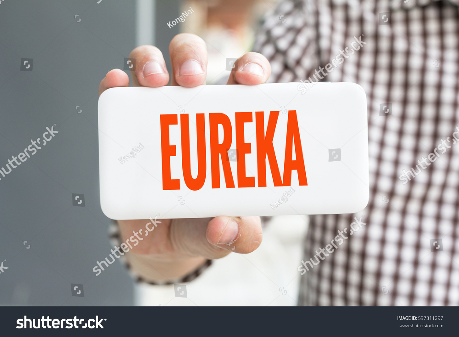 List of Synonyms and Antonyms of the Word: eureka word