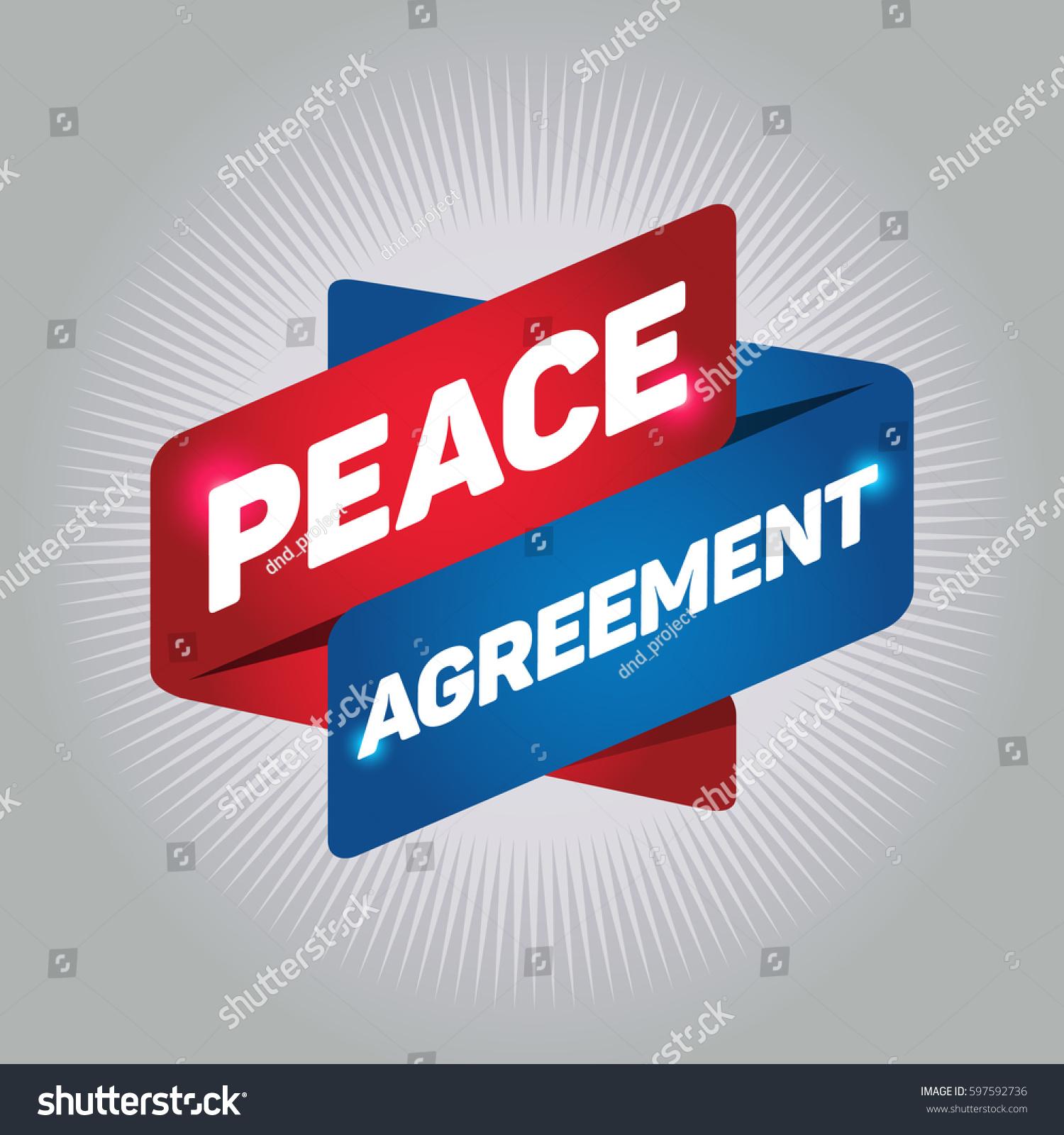 Peace agreement arrow tag sign stock vector 597592736 shutterstock peace agreement arrow tag sign platinumwayz