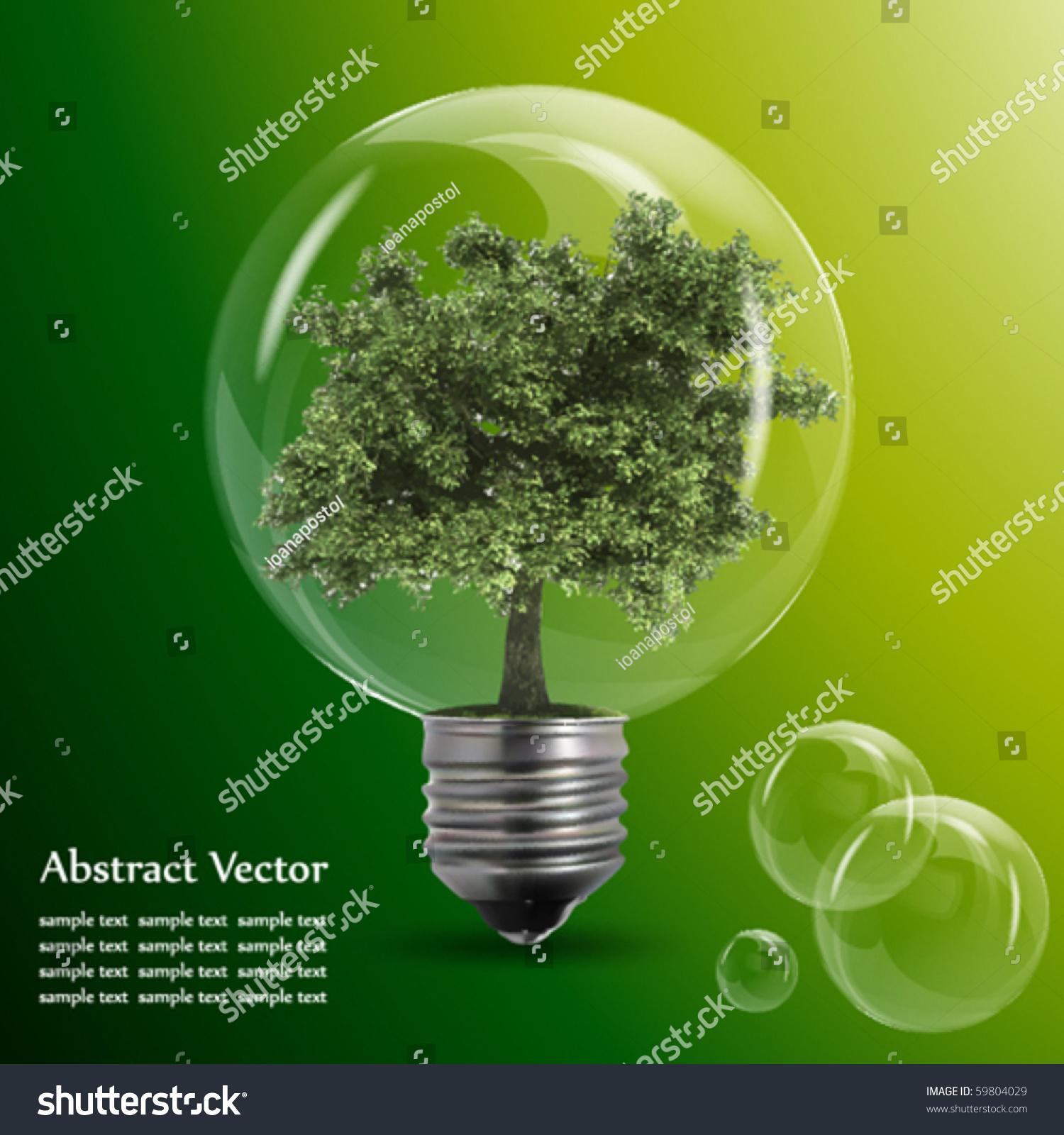 Eco energy stock vector 59804029 shutterstock - Auchan eco energie ...