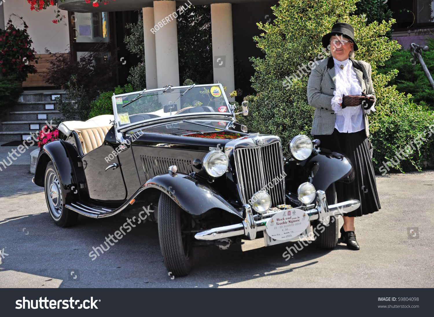 Ceva Cn August 21 Vintage Car Stock Photo (Royalty Free) 59804098 ...