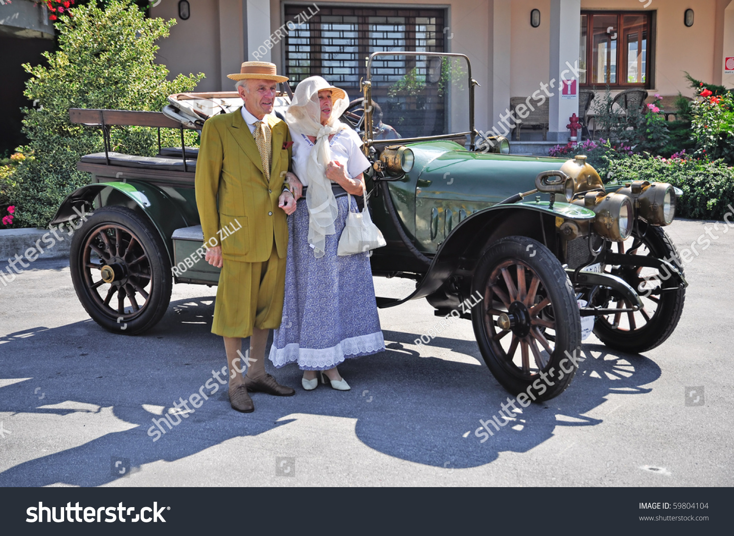 Ceva Cn August 21 Vintage Car Stock Photo (Royalty Free) 59804104 ...