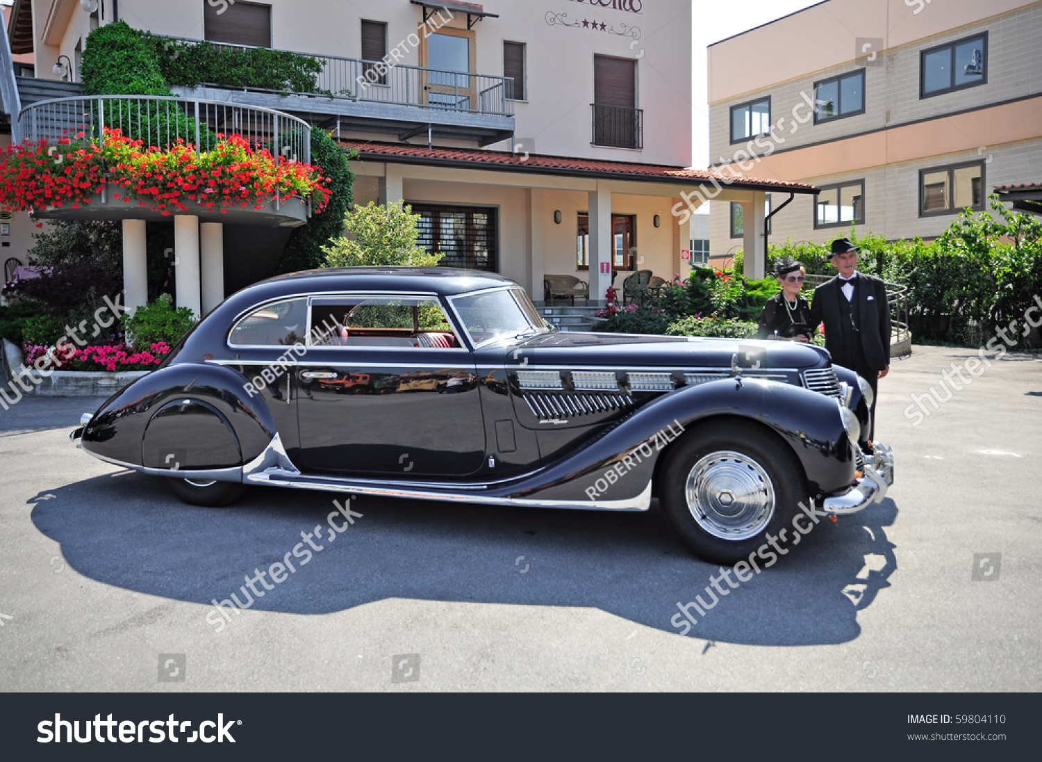 Ceva Cn August 21 Vintage Car Stock Photo (Royalty Free) 59804110 ...