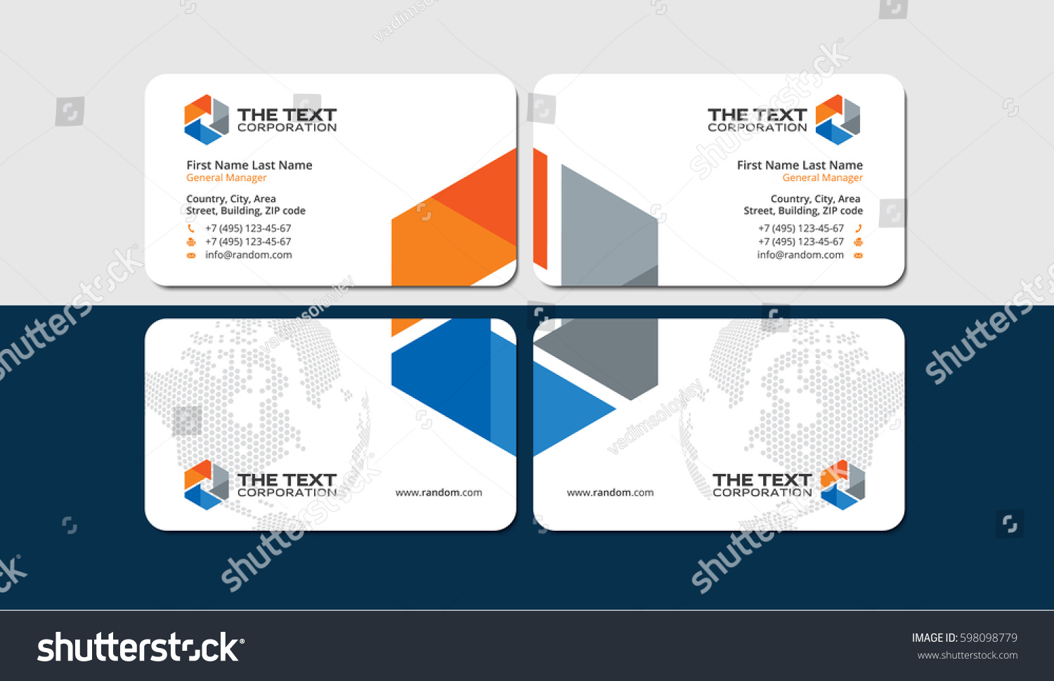 Engineering Business Cards Templates