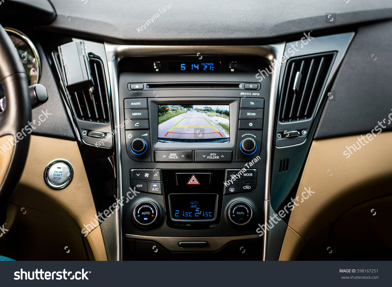 black beige interior new car stock photo 598167251 shutterstock. Black Bedroom Furniture Sets. Home Design Ideas