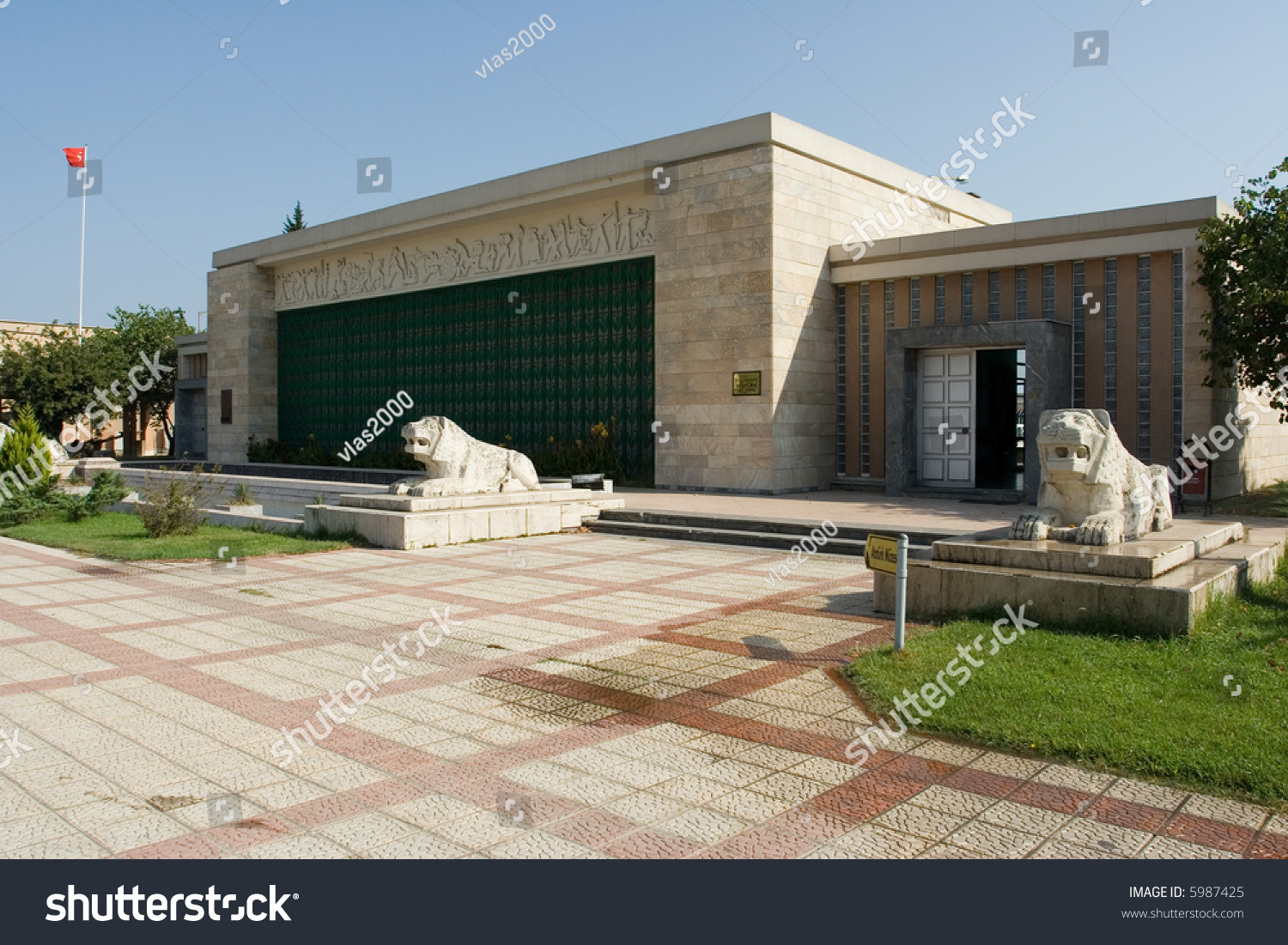 Kemal Ataturk Museum Samsun Black Sea Stock Photo 5987425 - Shutterstock