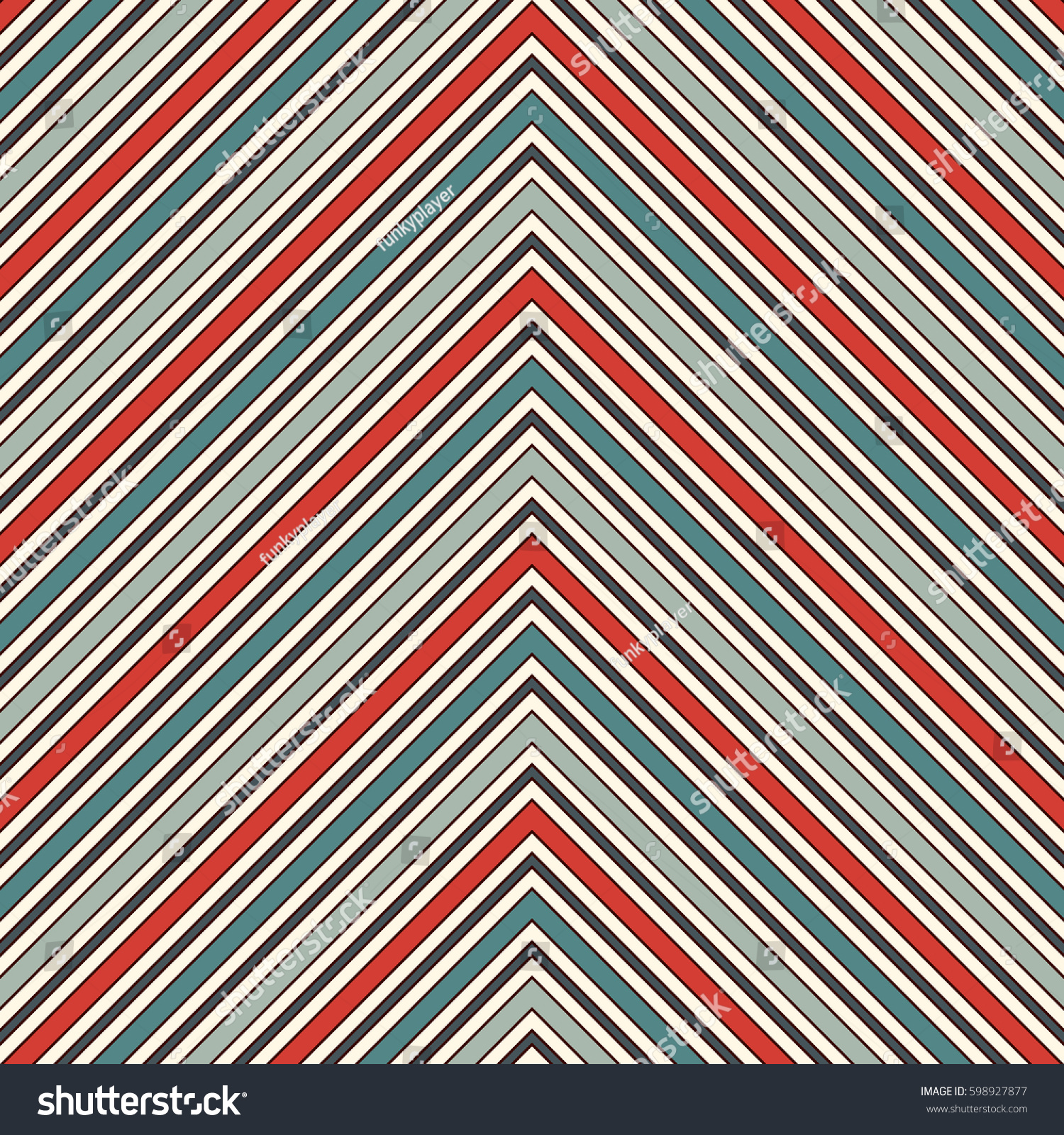 chevron diagonal stripes abstract background retro stock vector 598927877 shutterstock. Black Bedroom Furniture Sets. Home Design Ideas