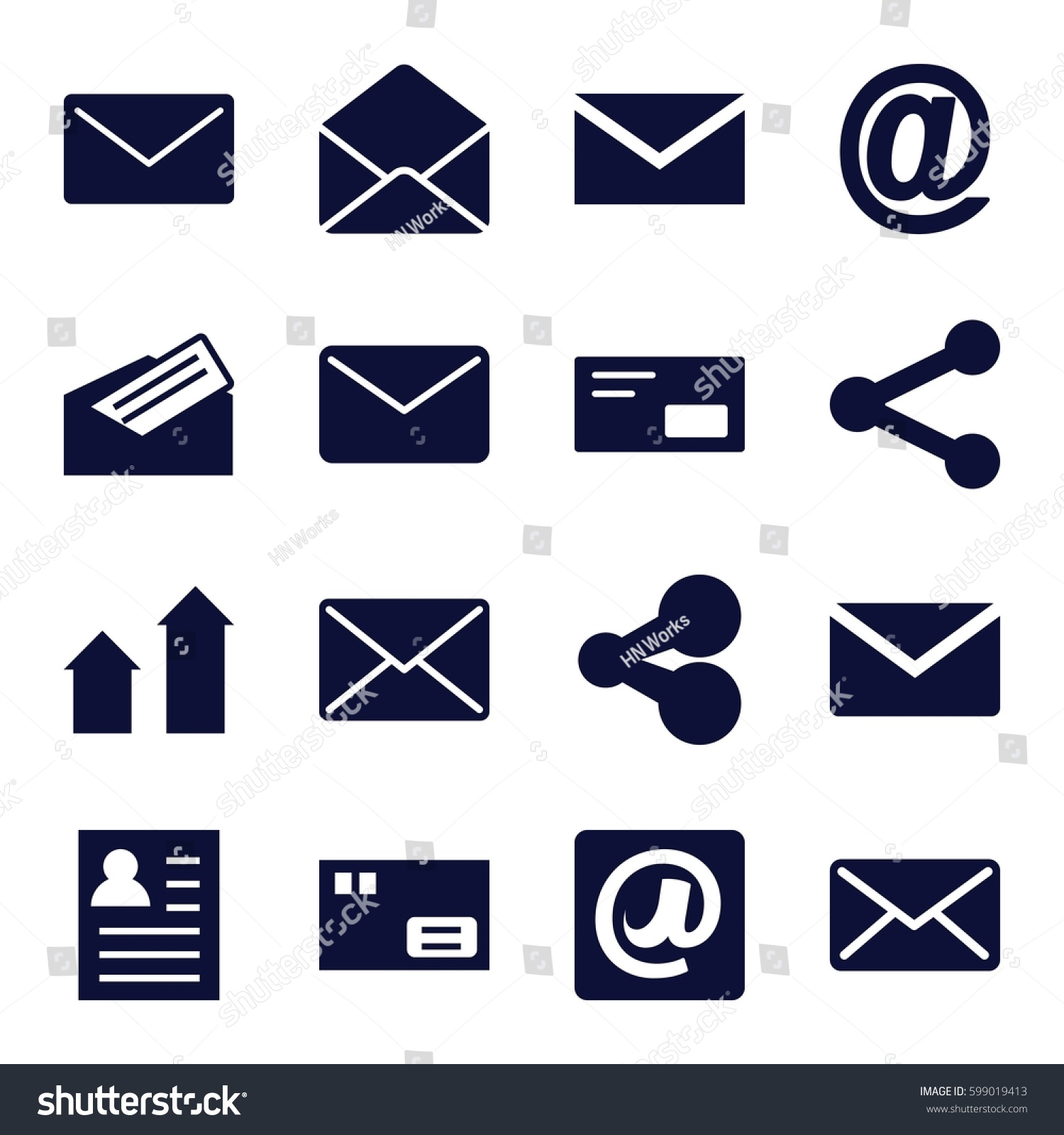 Send Icons Set Set  Send Stock Vector Hd Royalty Free