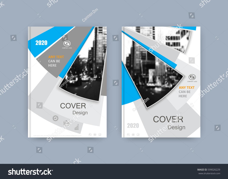 Book Cover Design Sheet : Book cover design annual report magazine stock vector