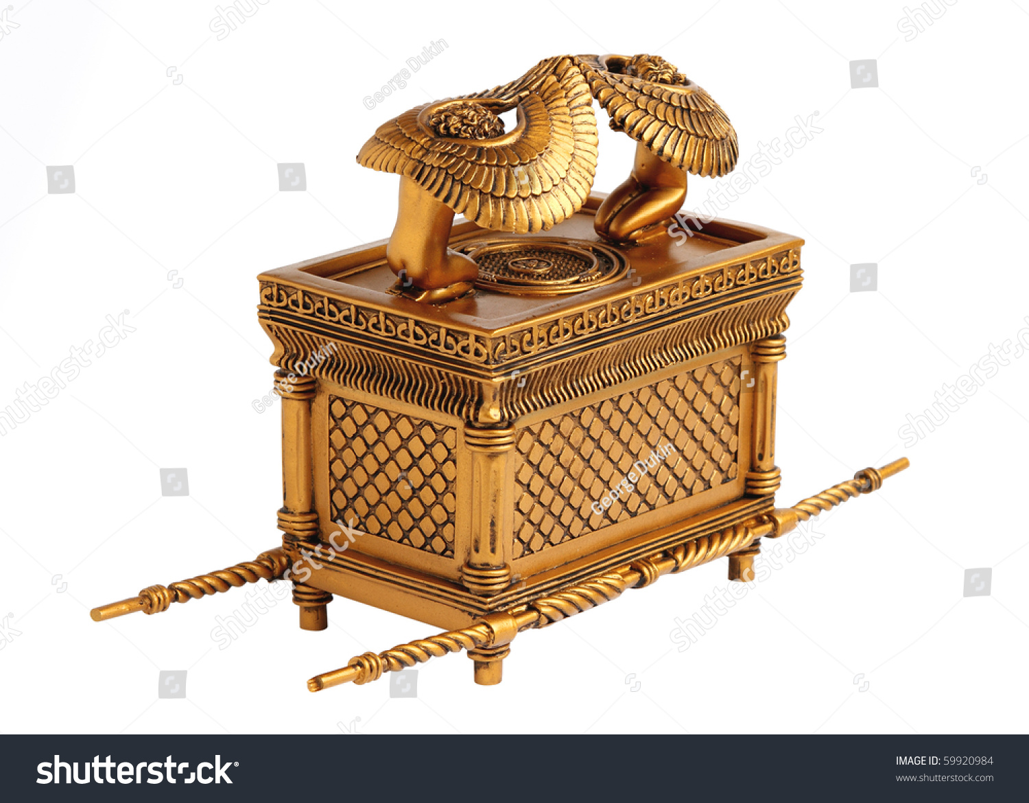 Ark Covenant Best Known Item Tabernacle Stock Photo