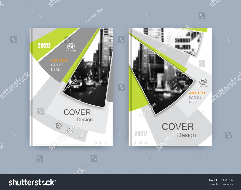 Magazine Book Cover Design : Book cover design annual report magazine stock vector
