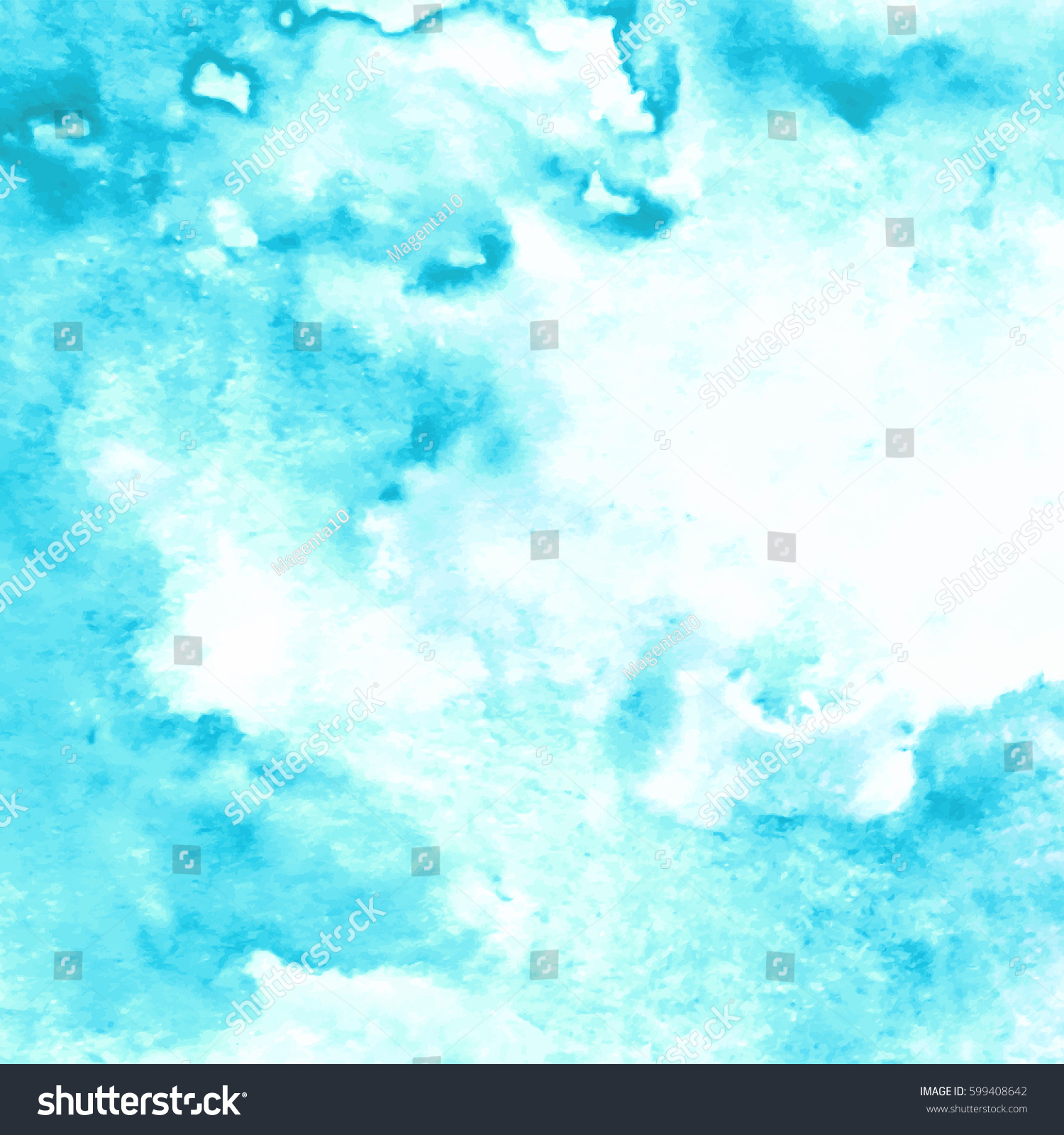 Sea Water Splash Background Abstract Hand Stock Vector ...