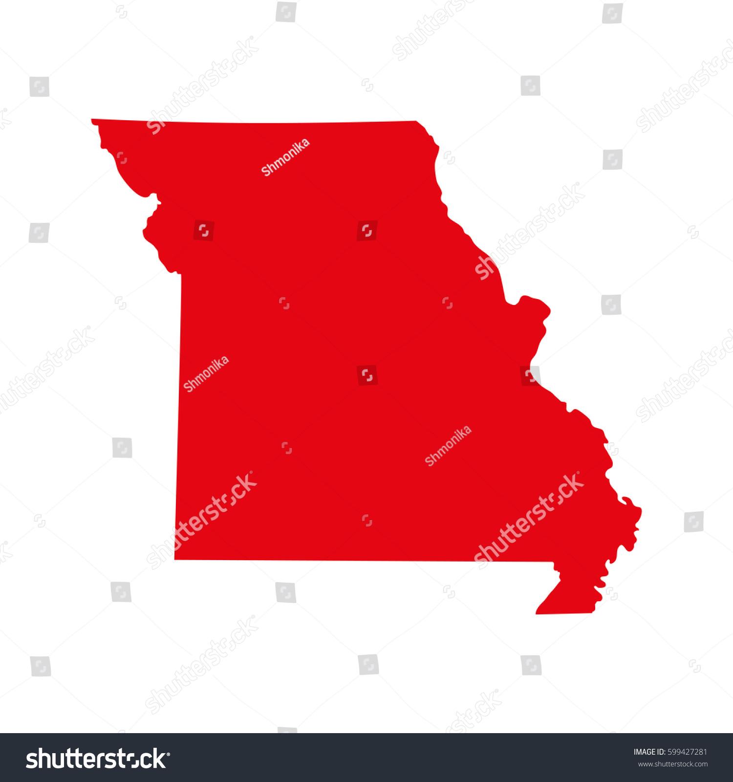 Missouri County Map US Missouri On The Map My Blog Missouri Maps