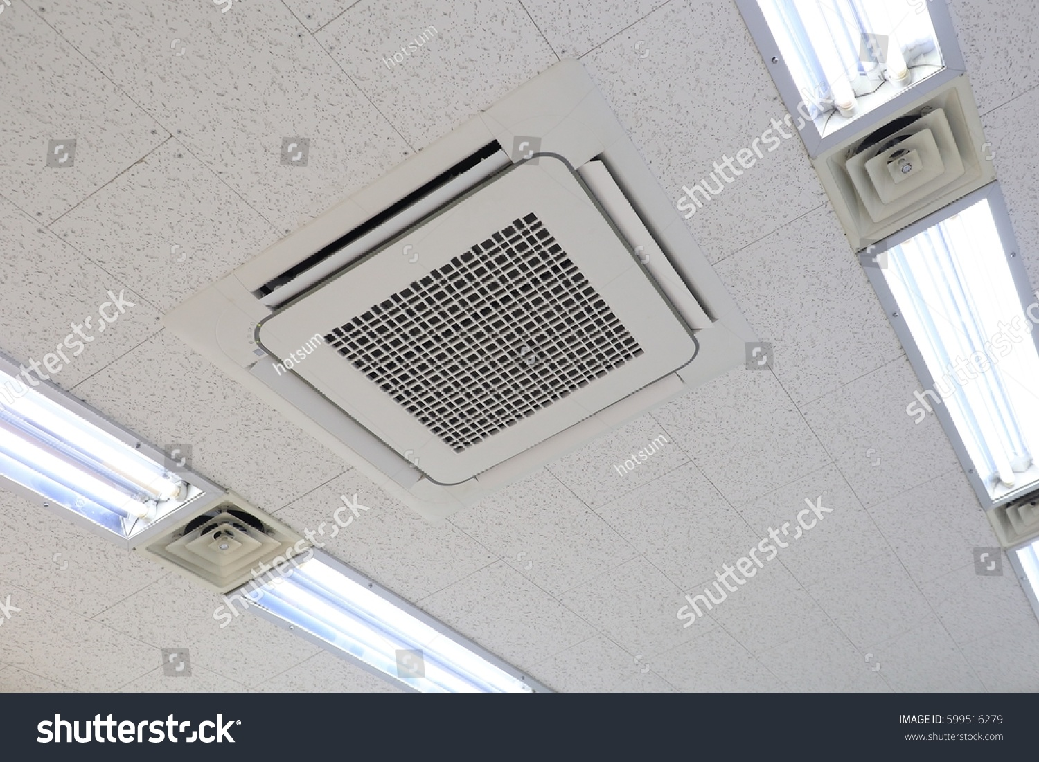 Ceiling Mounted Air Conditioning System Stock