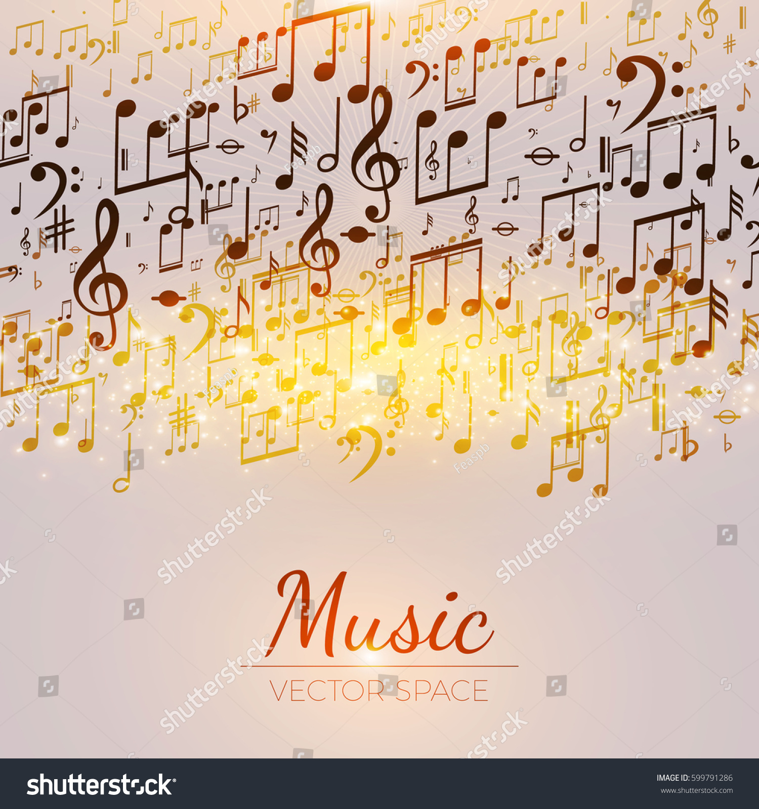 Music Notes Explode | EZ Canvas