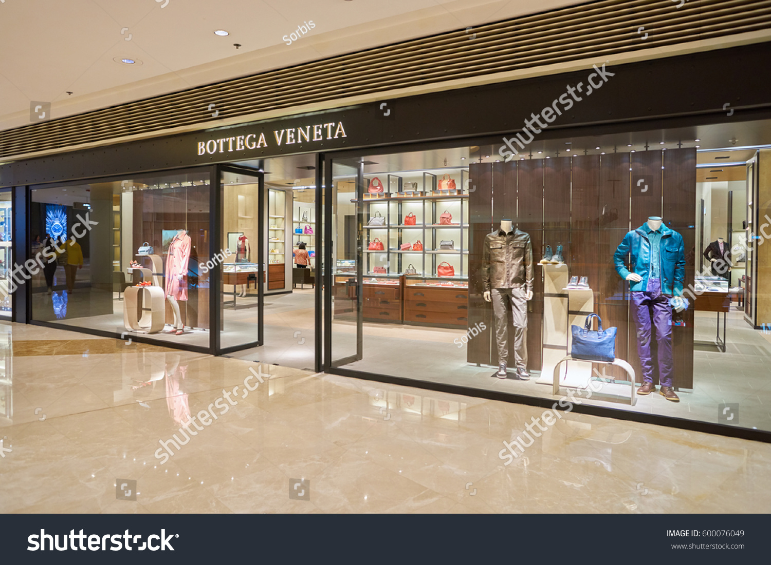 938466e5cfe HONG KONG CIRCA NOVEMBER 2016 Bottega Stock Photo (Edit Now ...