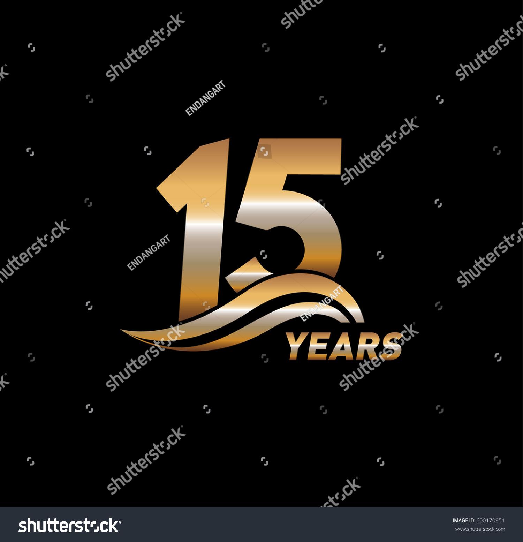 15 years anniversary celebration design stock vector 600170951 15 years anniversary celebration design biocorpaavc
