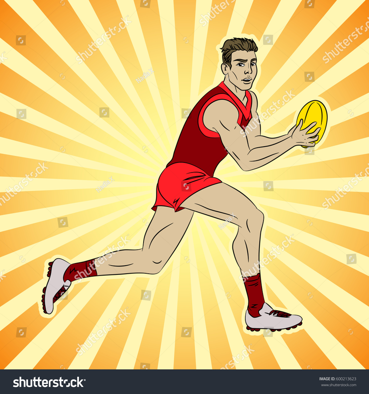 American football cartoon images