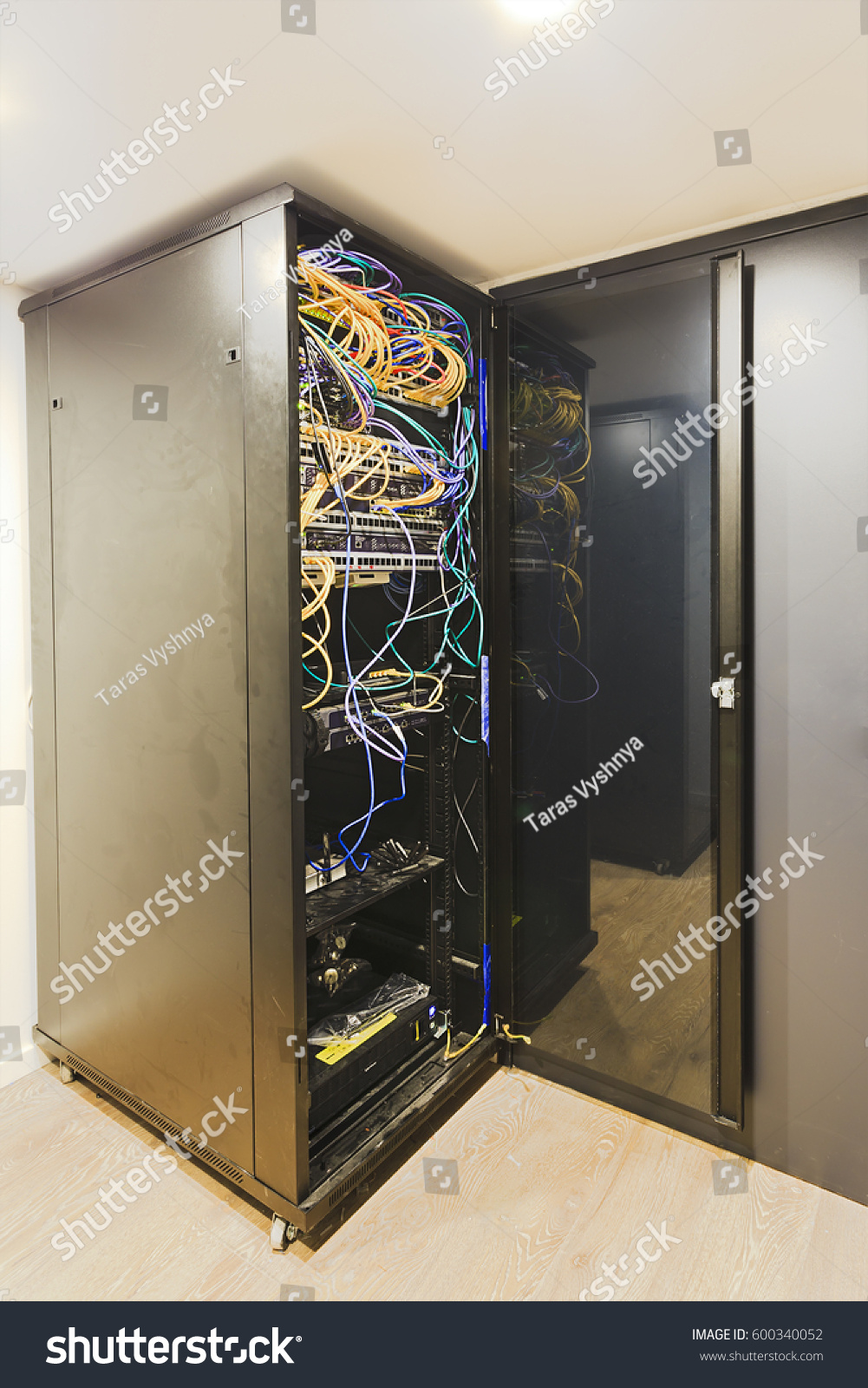 Corner Exhibition Stands Alone : Corner stand alone rack cabinet security stock photo
