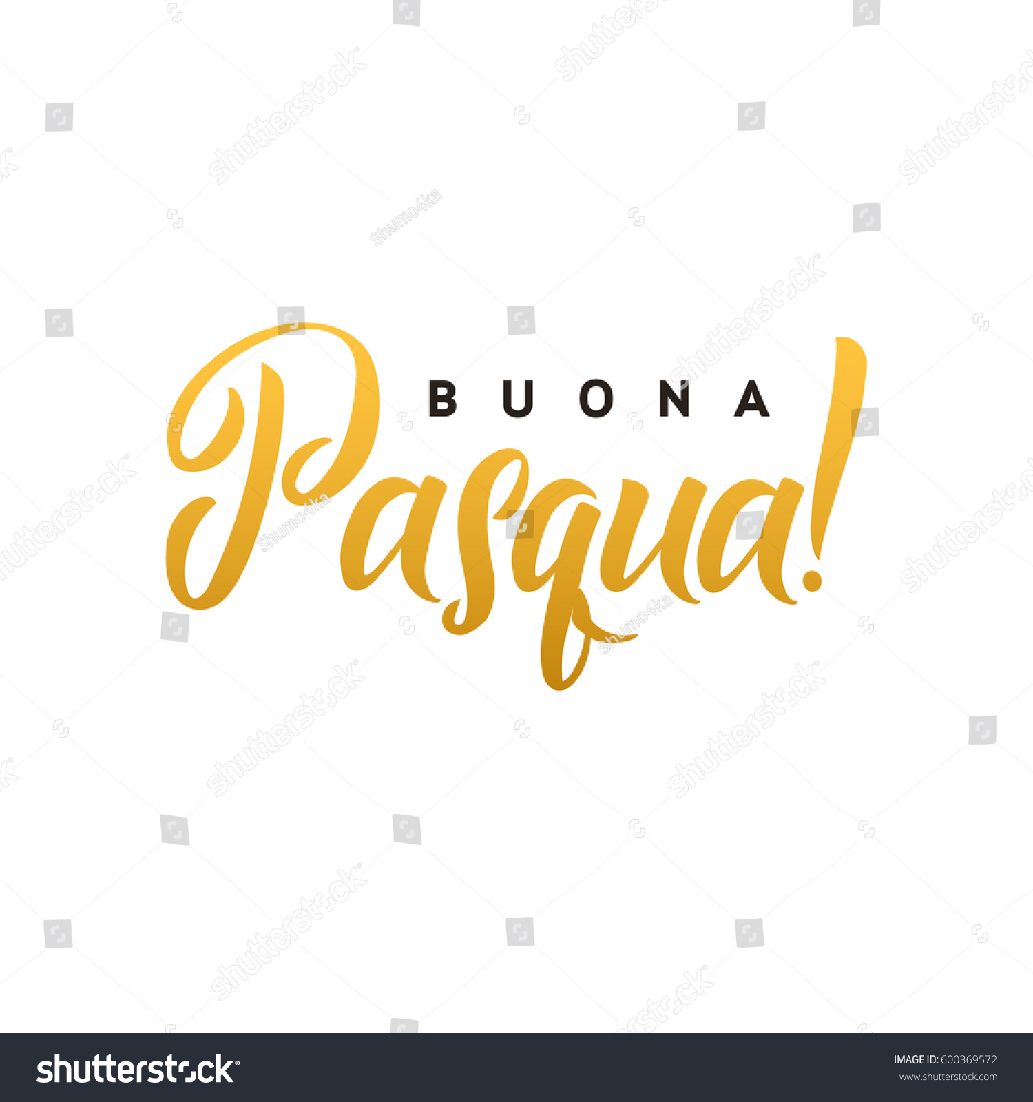 Happy easter hand lettering modern calligraphy stock vector happy easter hand lettering modern calligraphy style vector illustration greeting card italian text template kristyandbryce Gallery